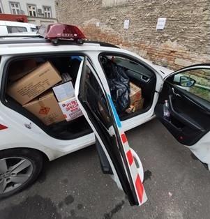 Egy rendőrautónyi petárdát foglaltak le Józsefvárosban