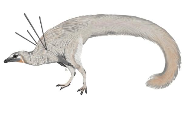 Egészen különleges, szőrmés-szalagos dinó külsejére derült fény