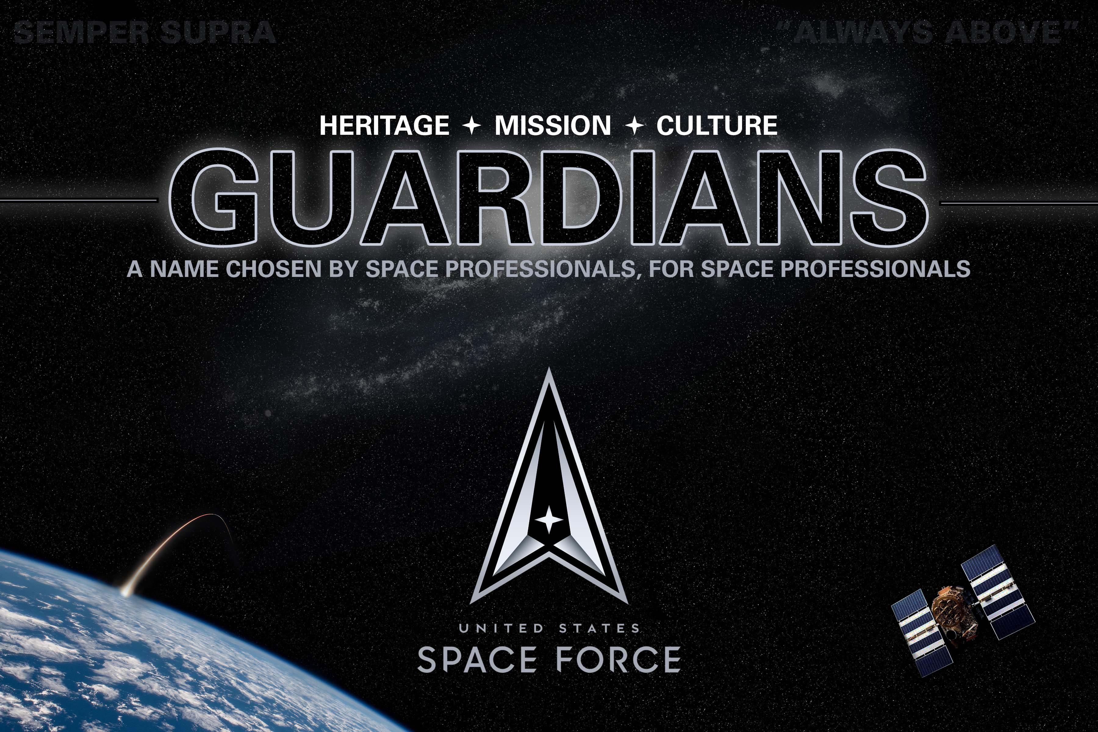 A galaxis őrzői: elnevezték az amerikai űrhaderő tagjait