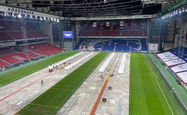 Tömeges tesztelőközpont lett egy dán stadionból
