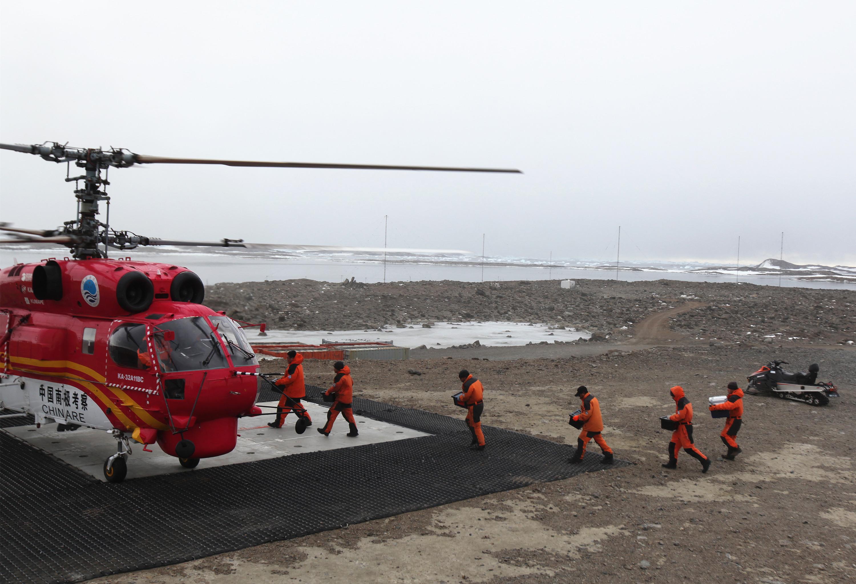 Evakuálni kellett az Antarktiszról egy ausztrál expedícióst
