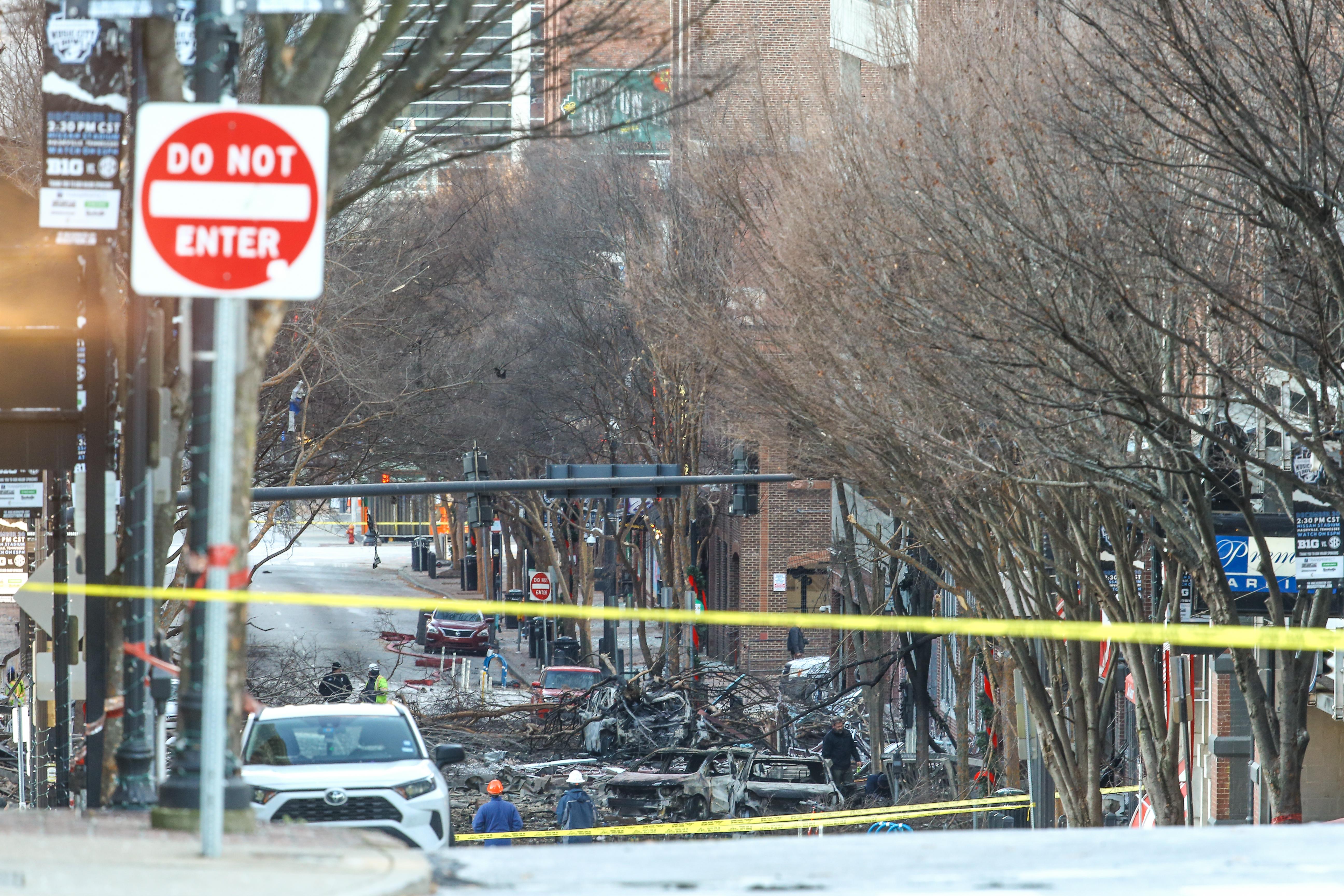 Azonosították a nashville-i robbantás elkövetőjét