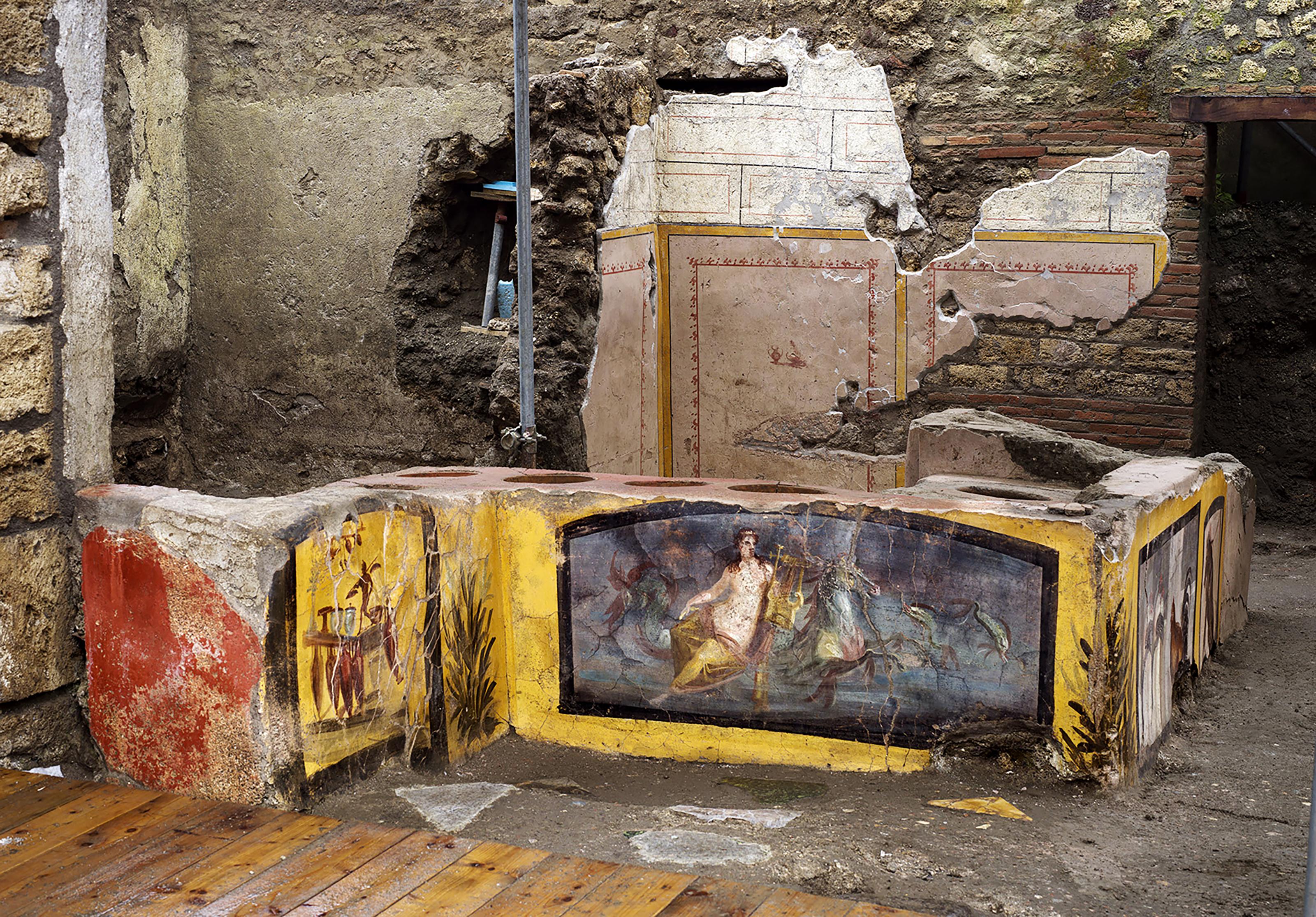 Töltött sült pelét és halolajas desszertet is ettek az ókori Rómában
