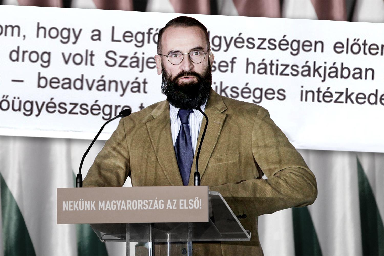 A Központi Ügyészség előtt Szájer kábítószer-birtoklási ügye