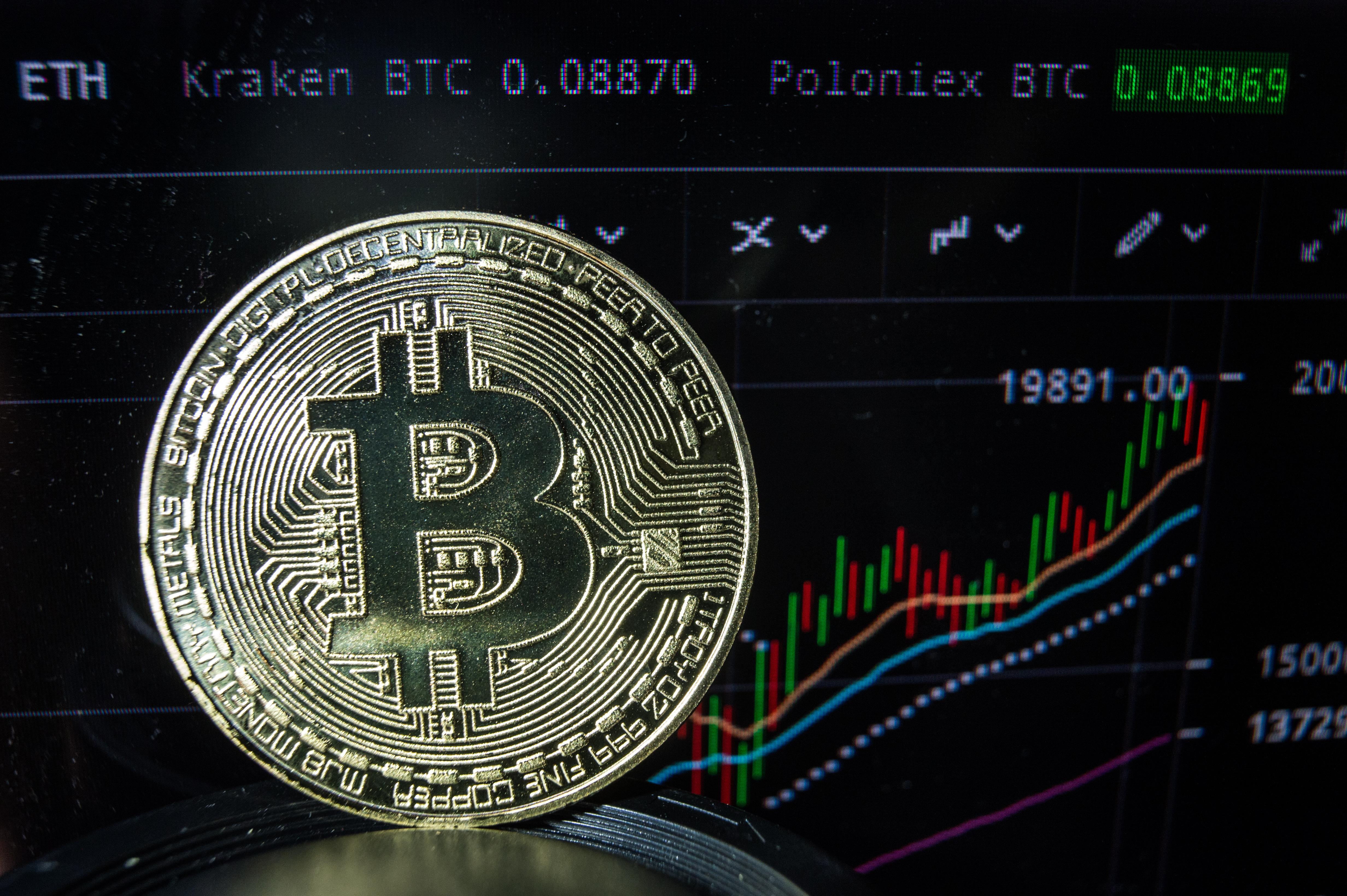 Bitcoin-rekord: 60 ezer dollár fölött az árfolyam