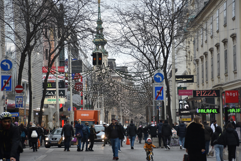 Még soha nem volt olyan tiszta Bécs levegője, mint 2020-ban