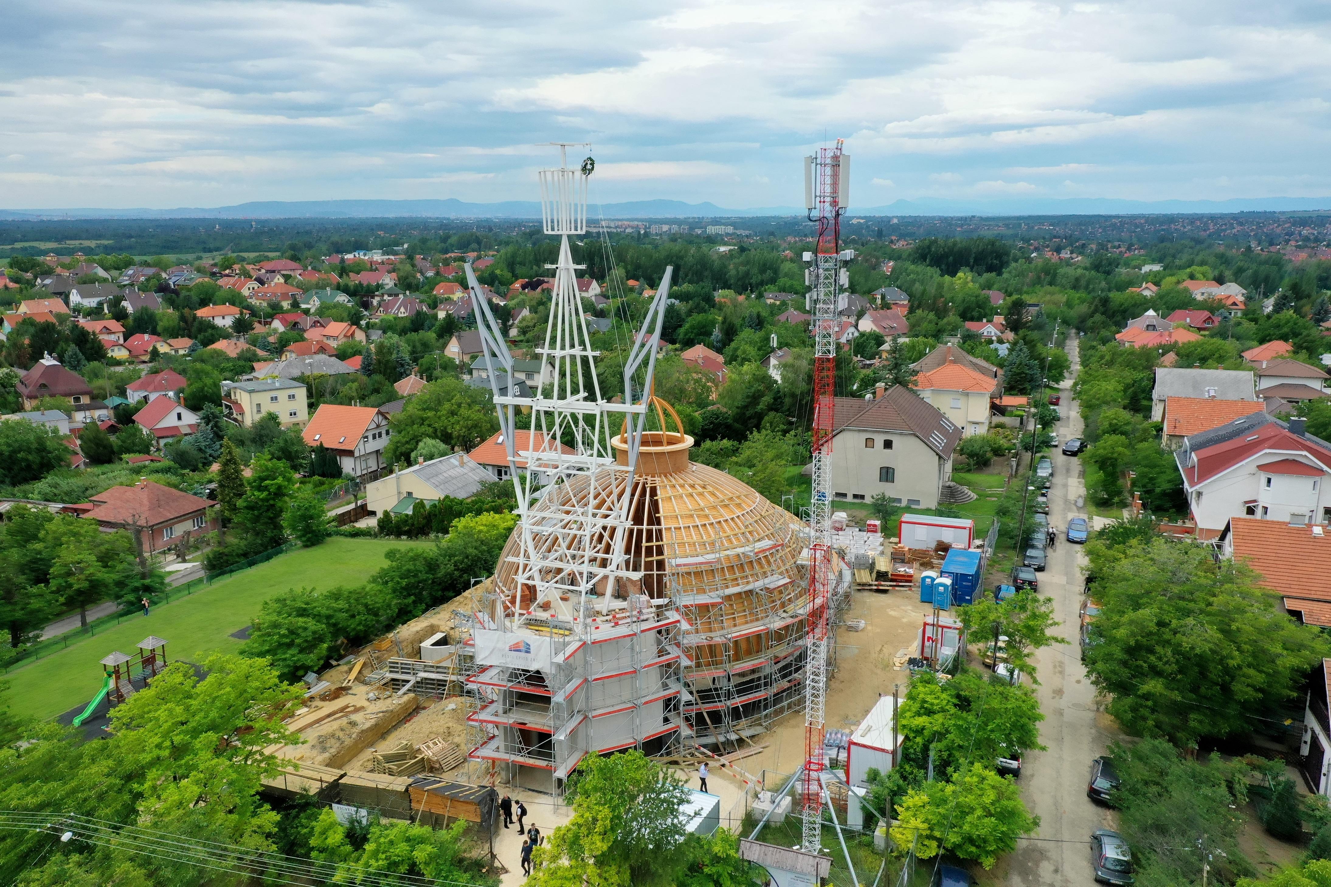Még hogy Makovecznek nincs temploma Budapesten?