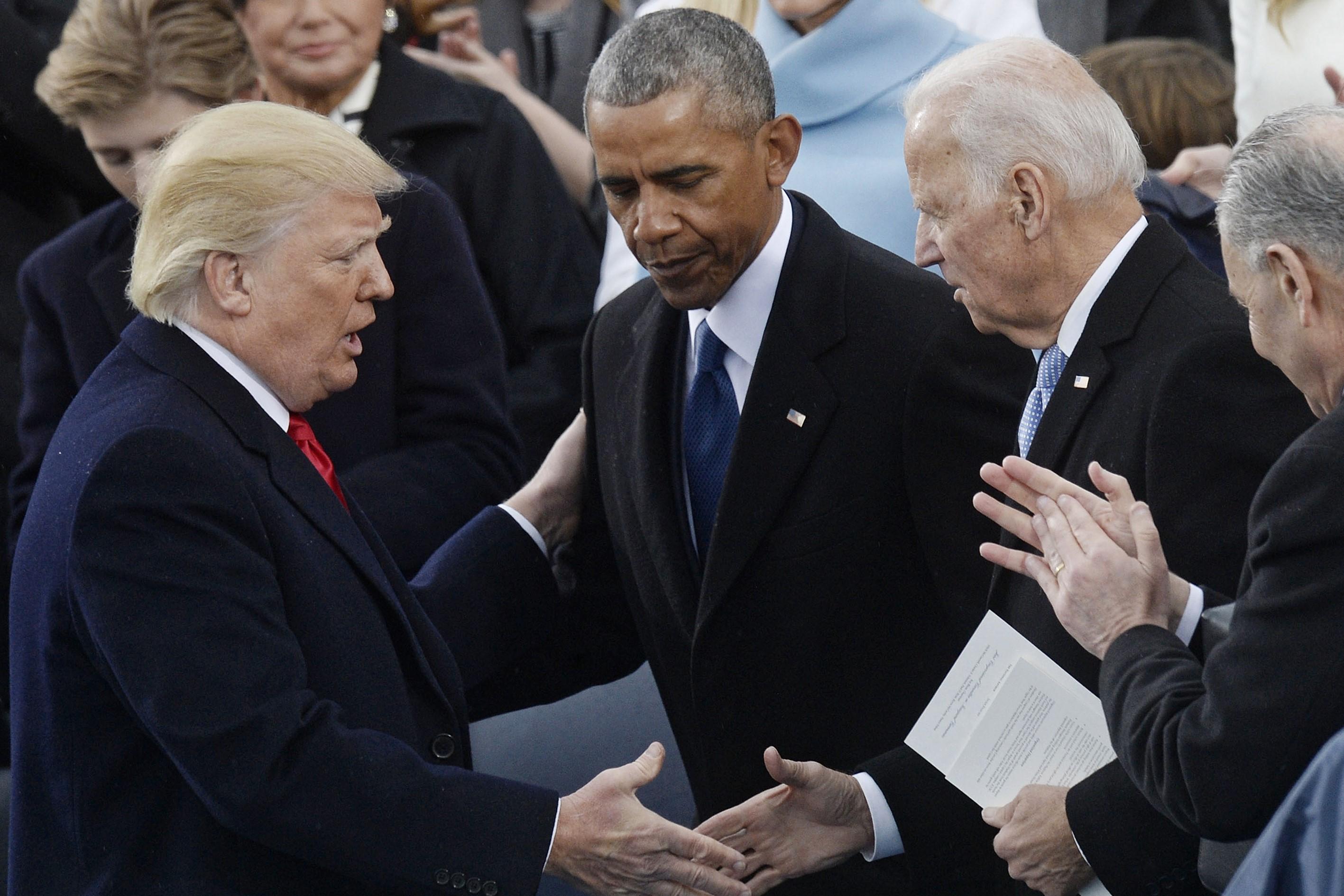Trump nem megy el Joe Biden beiktatására