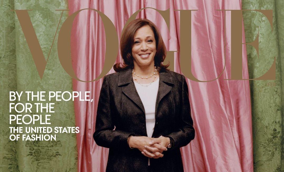 Kamala Harrist tették a Vogue februári címlapjára