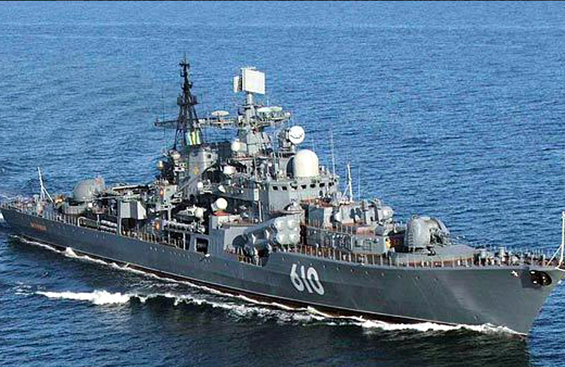 A legénység a kapitány vezetésével ellopta egy orosz romboló két, összesen 26 tonnás óriási hajócsavarját