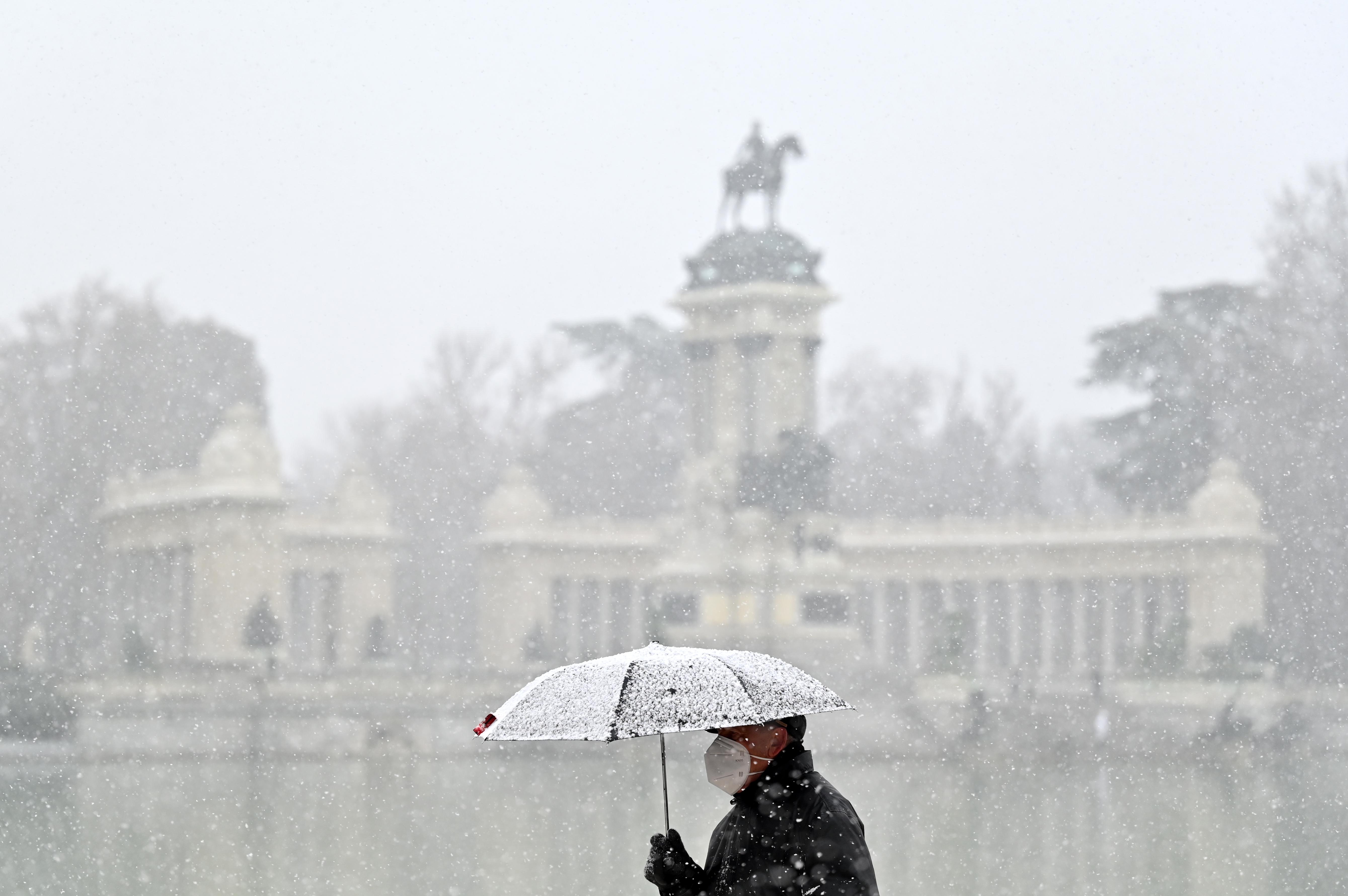 Mínusz 25 fok alatti hőmérsékletet mérnek Spanyolországban