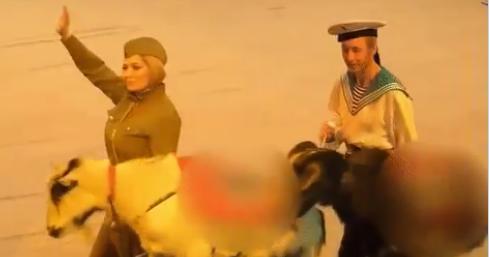 Náci majmok és kecskék miatt nyomoz az orosz ügyészség