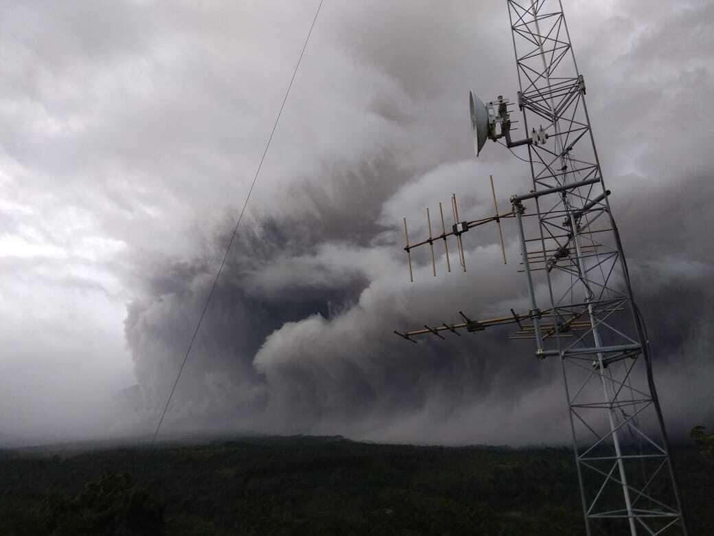 Kitört a Semeru vulkán Jáva szigetén