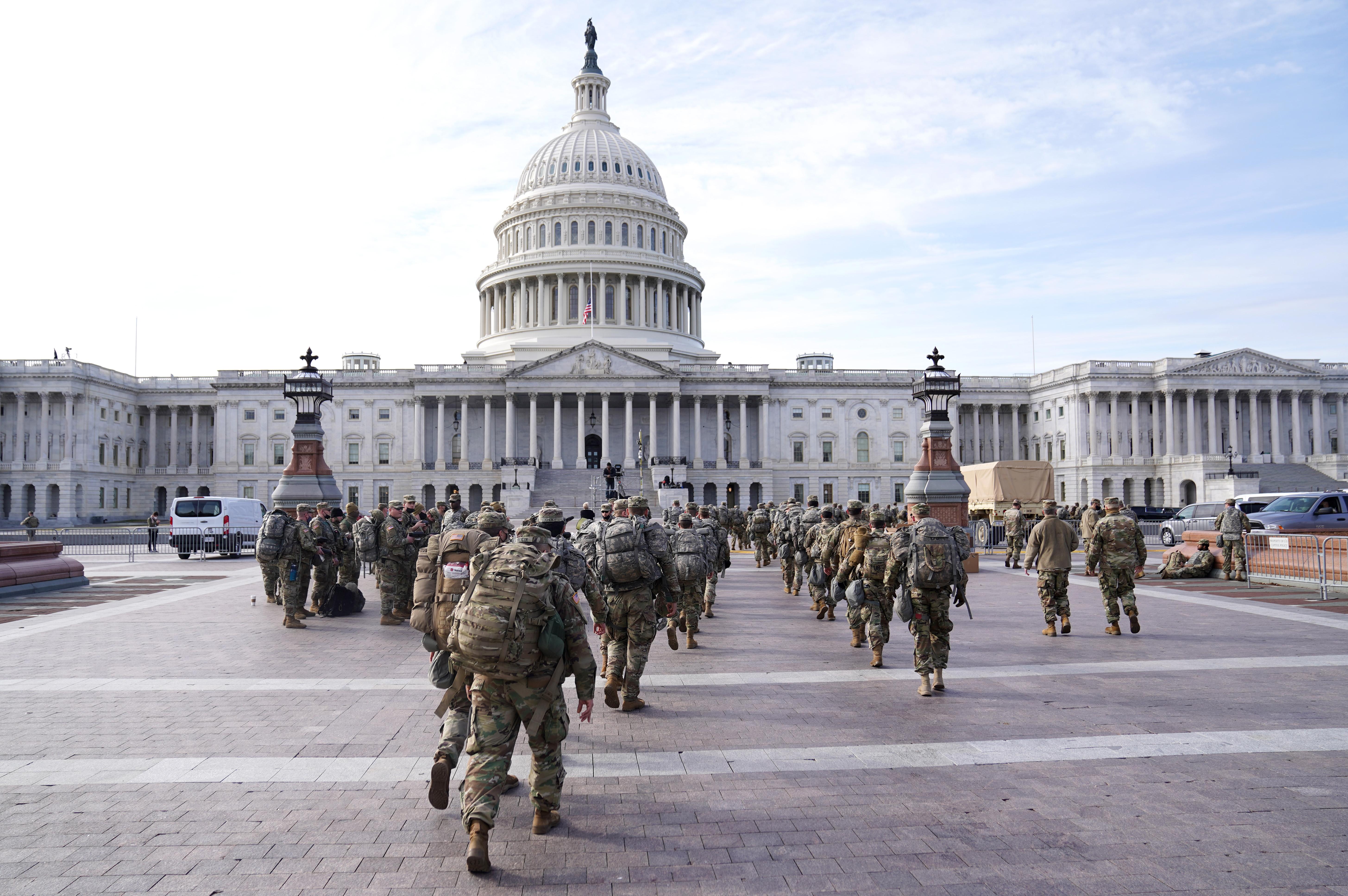 A rendőrség szerint csütörtökön fegyveresek támadhatják meg a Capitoliumot