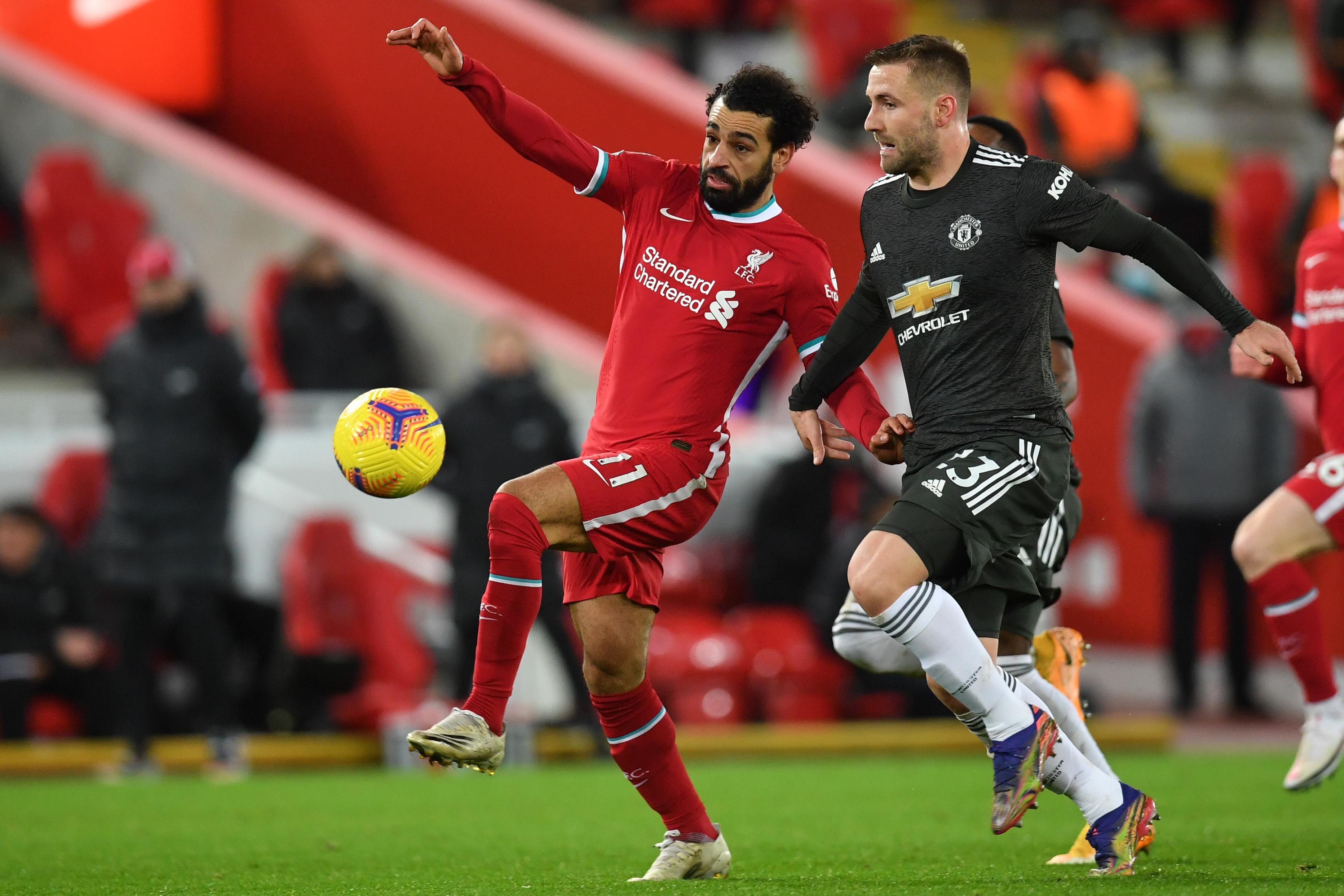 Élvezhetetlen volt a színtévesztők számára a Liverpool - Manchester United meccs