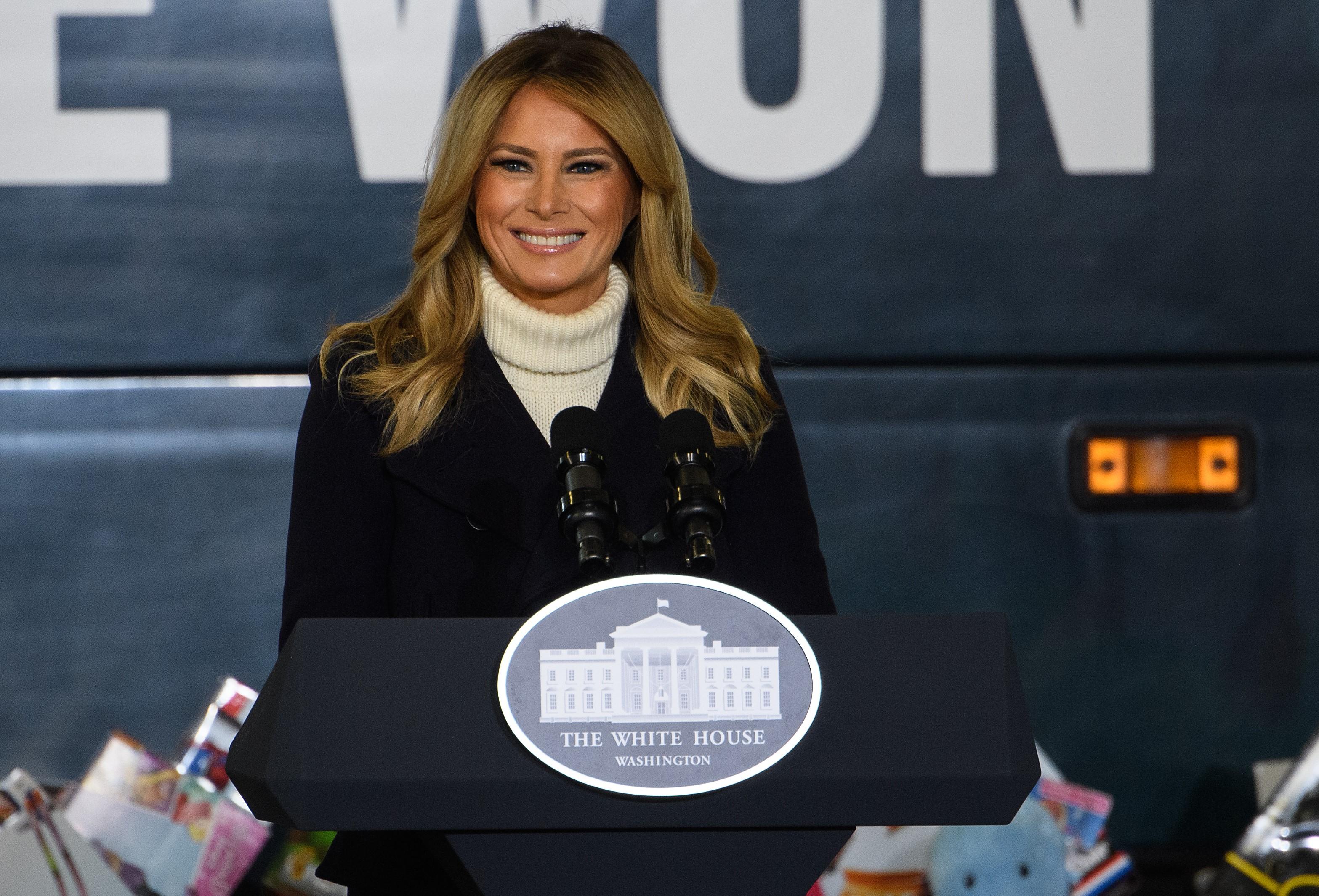 Melania Trump búcsúvideójában felejthetetlennek nevezte az elmúlt négy évet
