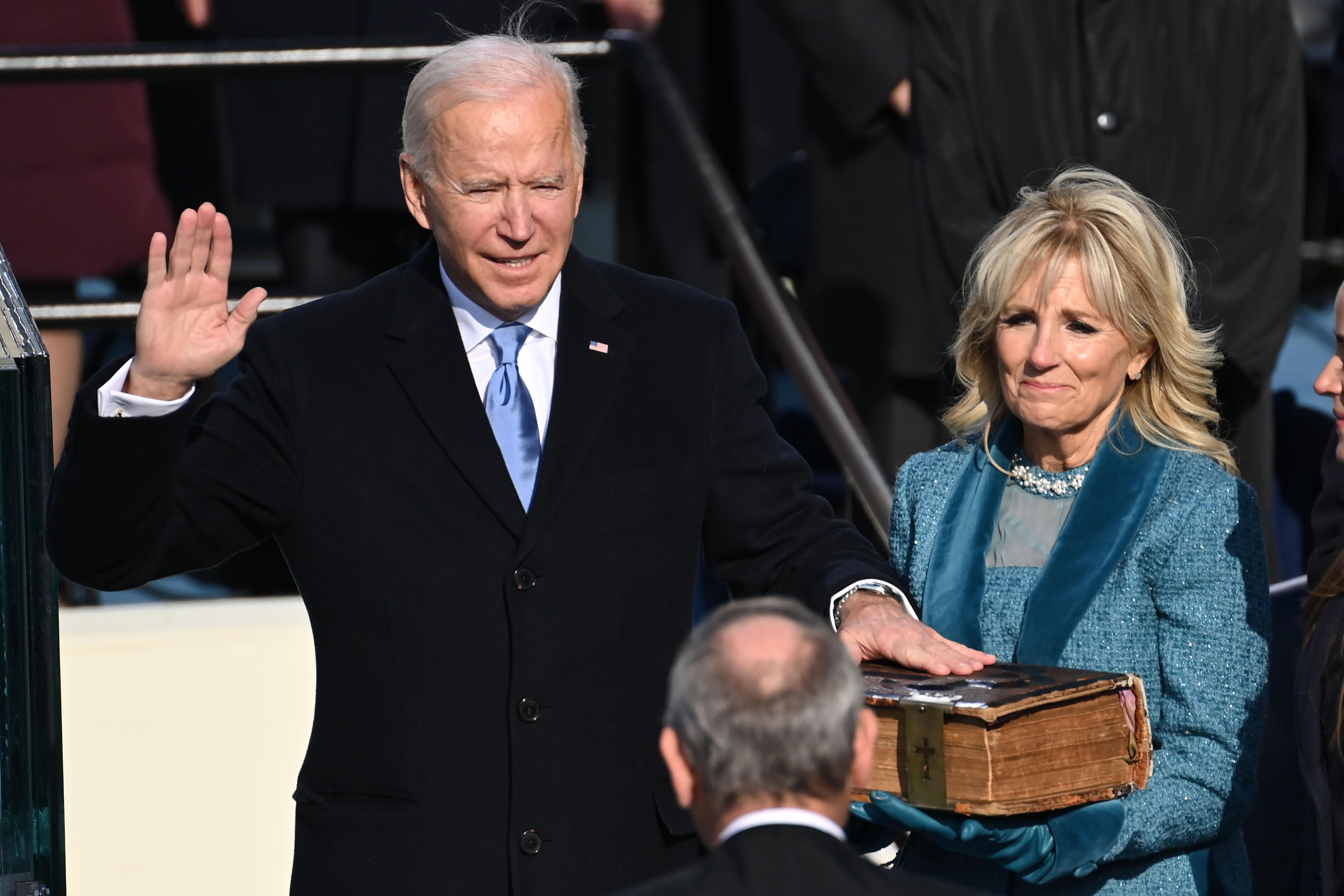 Világszerte tőzsdei csúcsokat hozott Biden beiktatása
