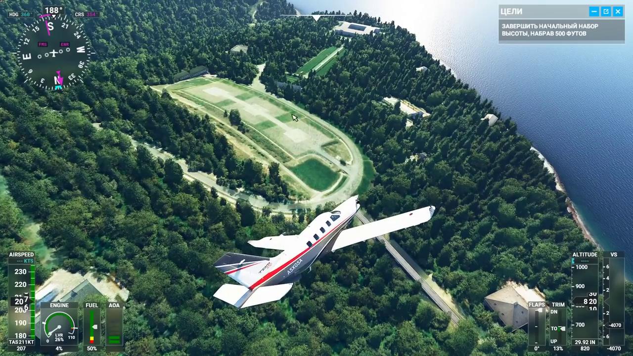 Már Putyin víkendháza felett is repkedhetünk a Microsoft repülőszimulátorában