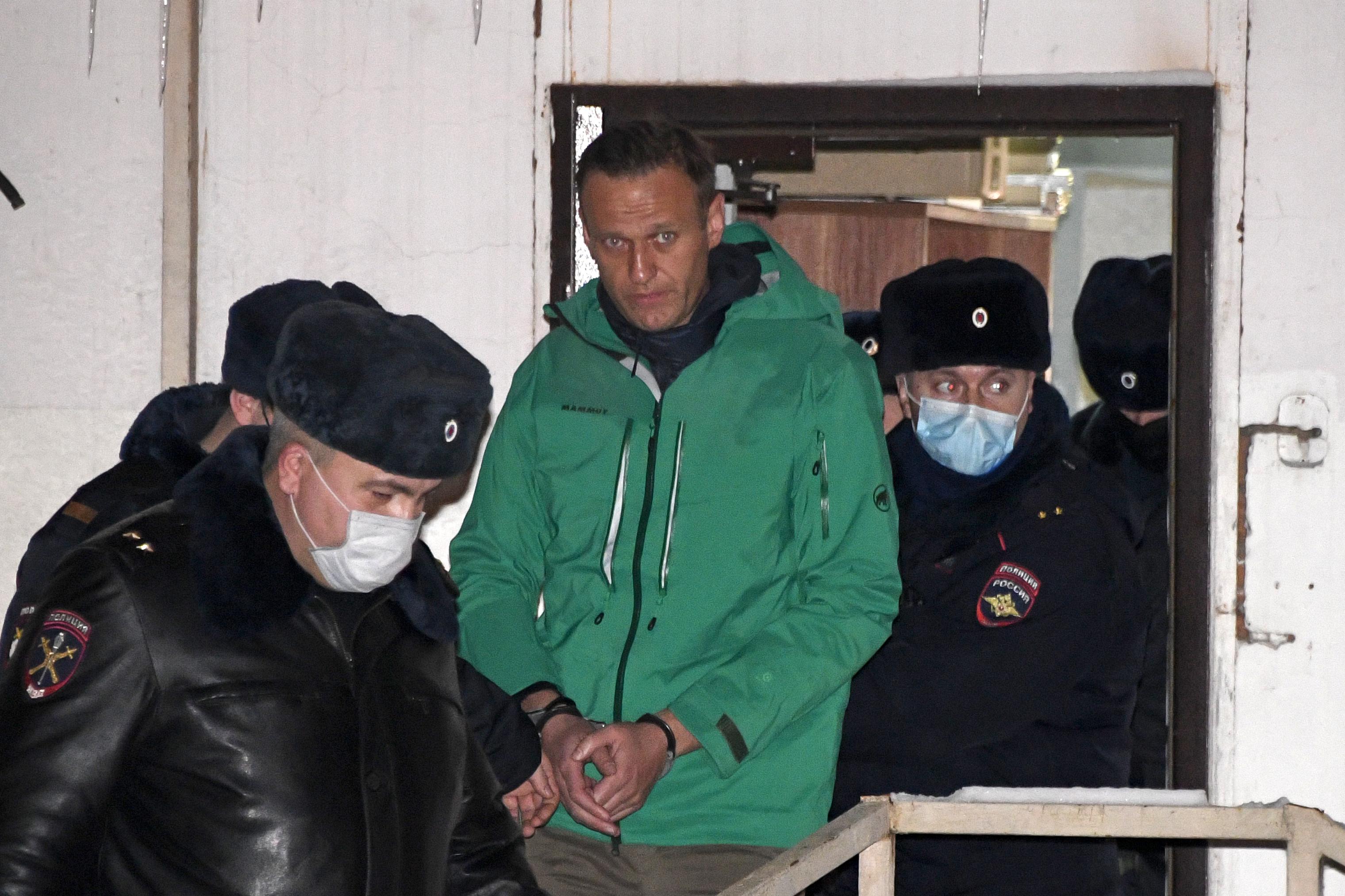 Az EU szankciókkal bünteti azokat, akik felelősek Alekszej Navalnij bebörtönzéséért