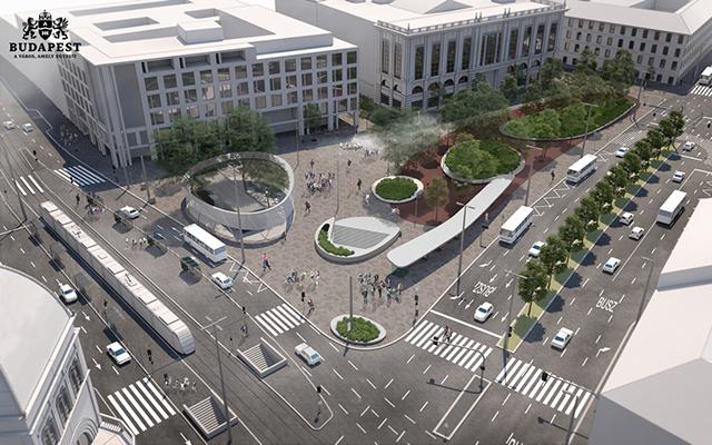 A nyáron elkezdődik a Blaha Lujza tér felújítása