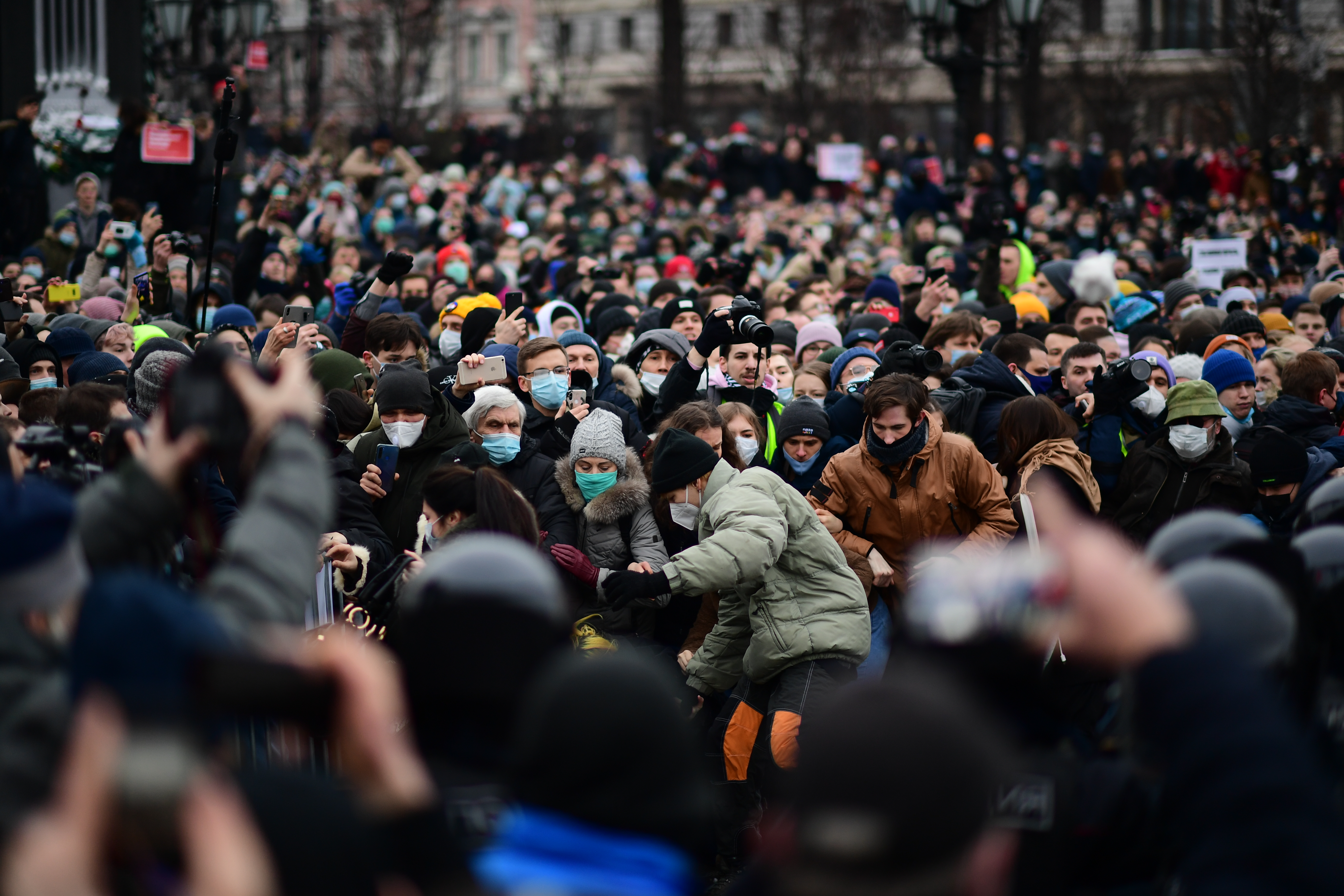 Metrókat zárnak le az orosz hatóságok a vasárnapi tüntetésre készülve