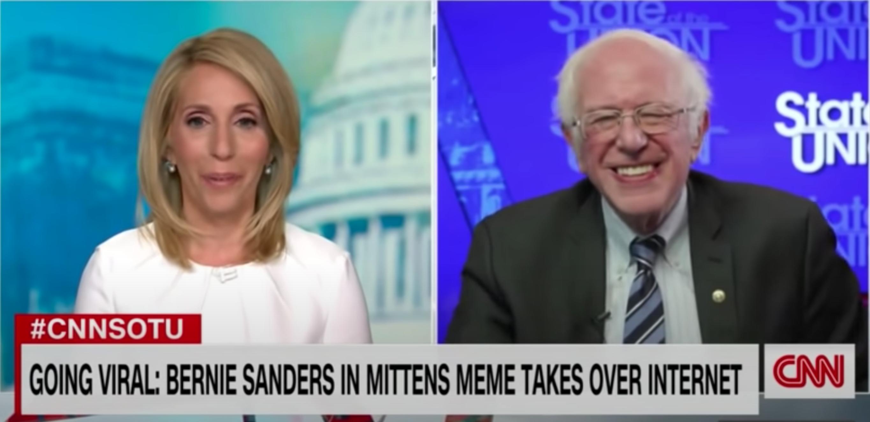 Bernie Sanders reagált a róla készült mémekre