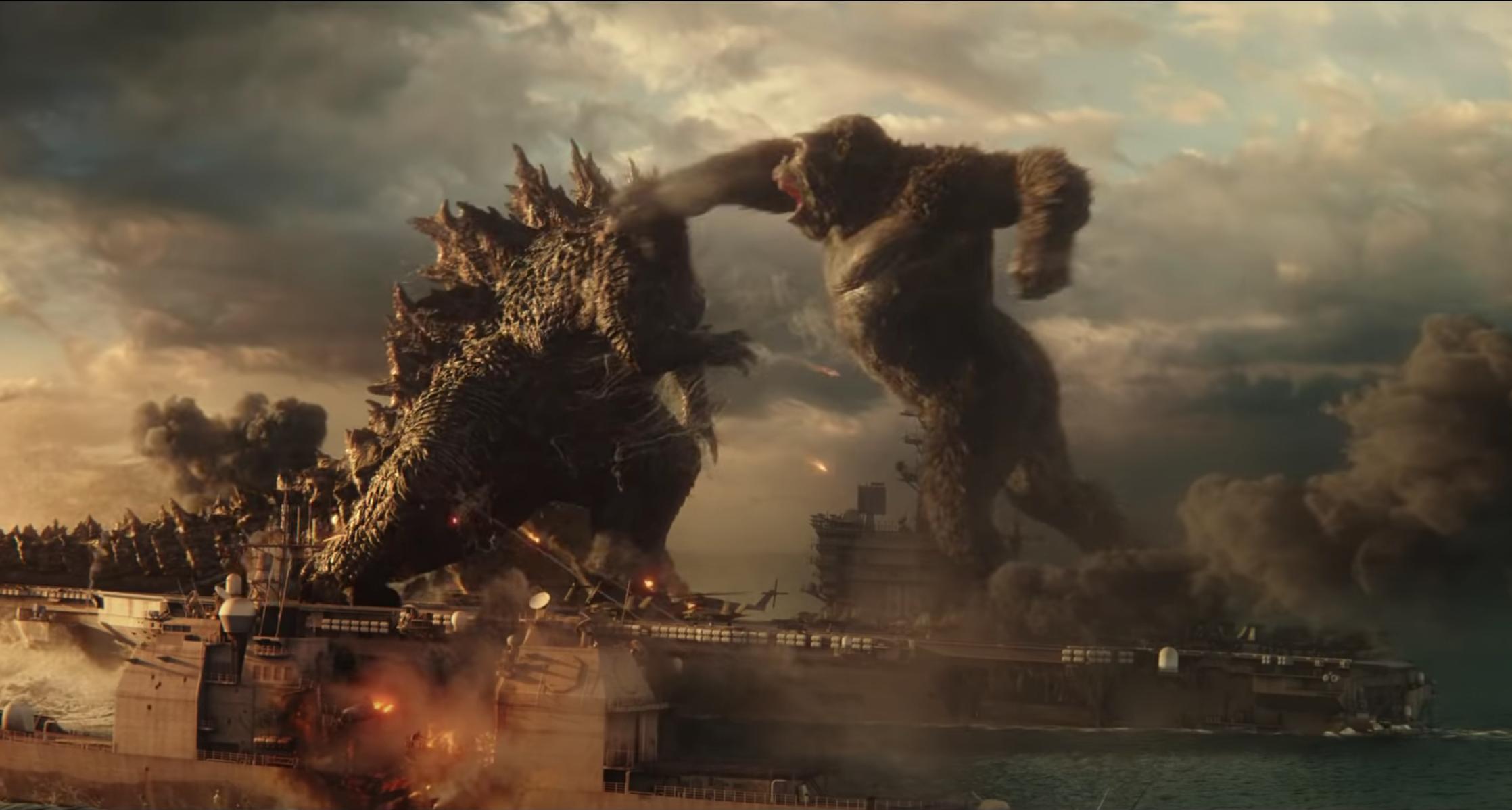 A Godzilla vs. Kong előzetese választ ad arra, hogy milyen, amikor egy óriásgorilla nekimegy egy óriásgyíknak
