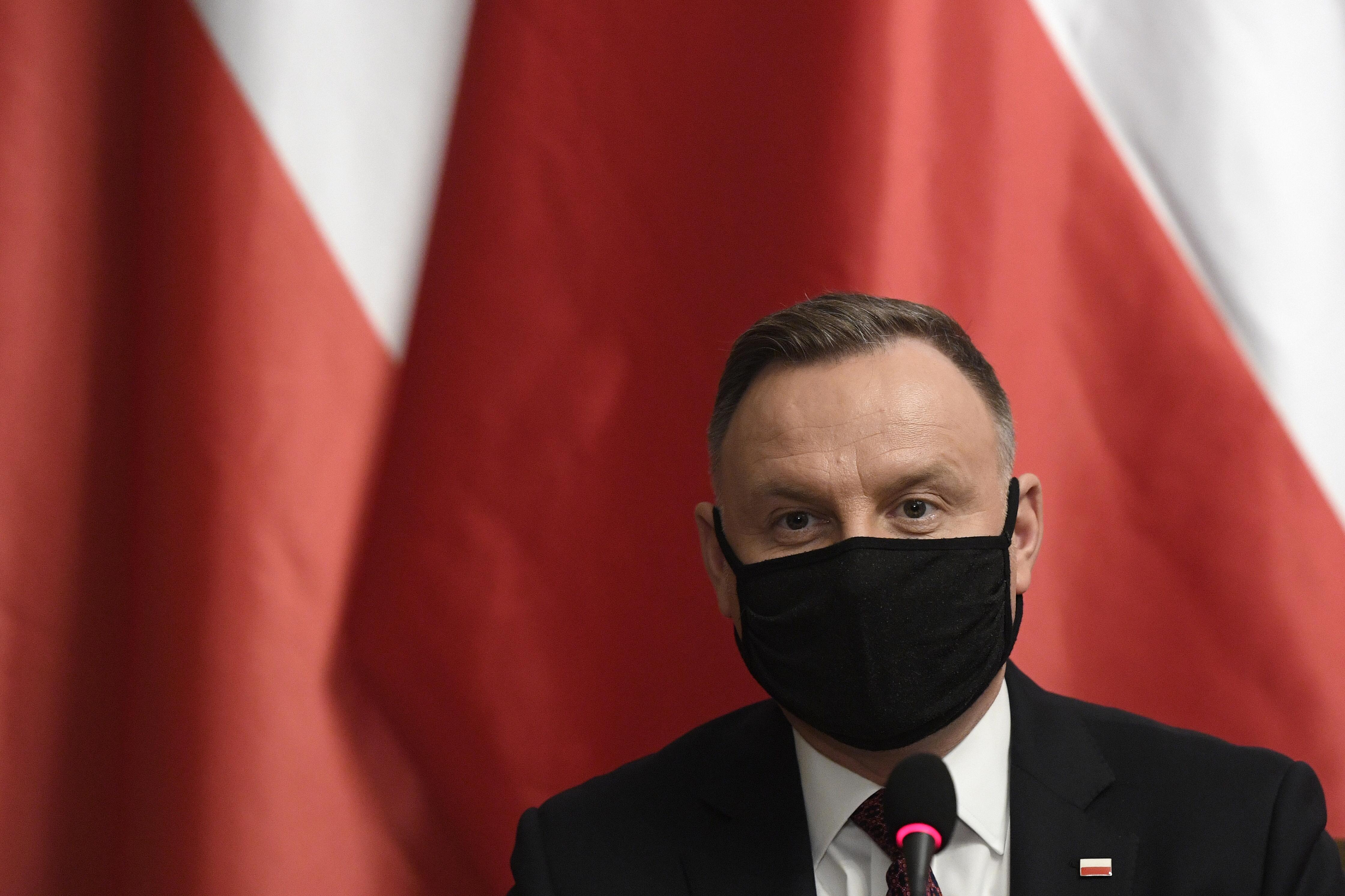 A lengyel elnök erősebb EU-s szankciókat akar Oroszország ellen
