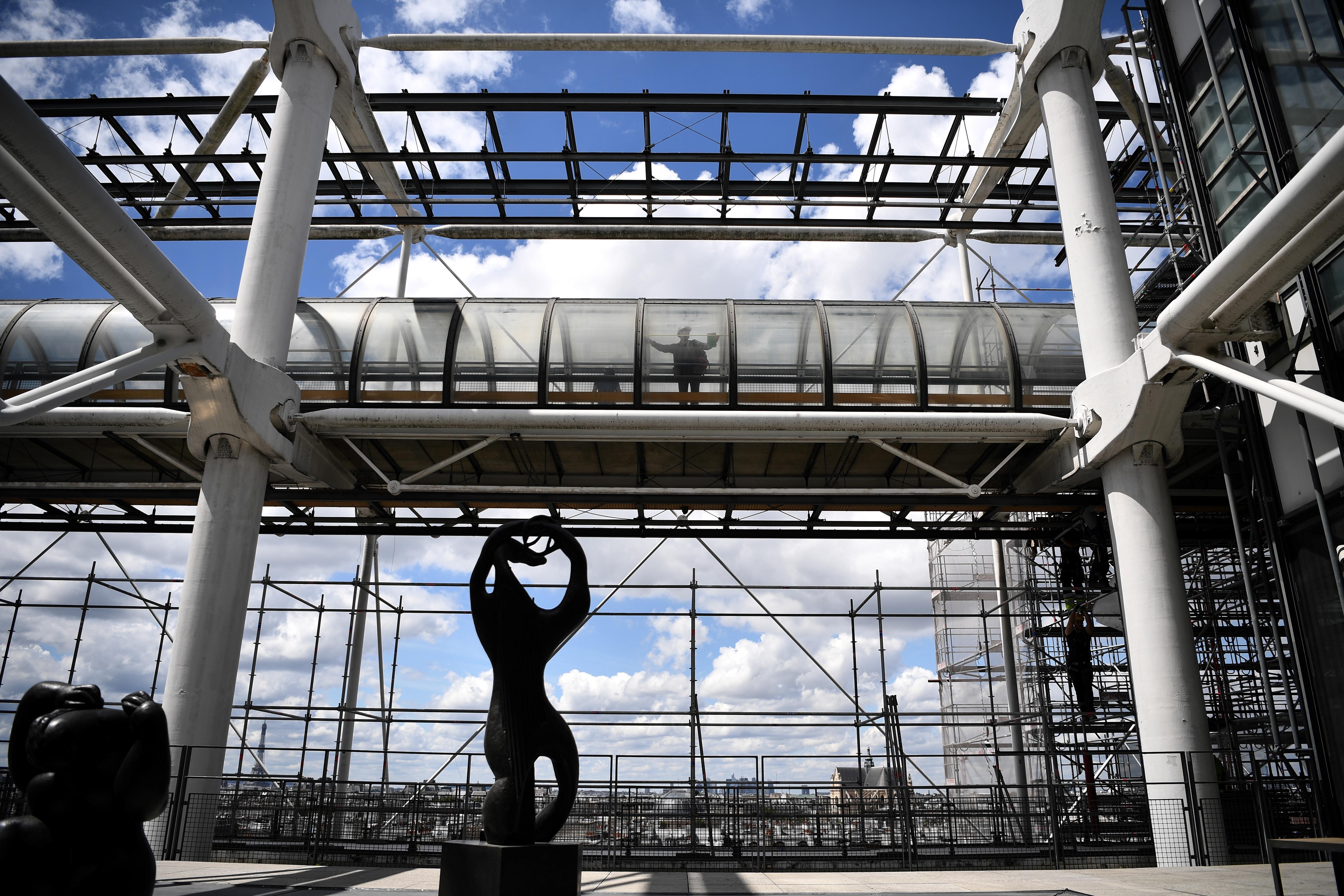 2023-ban 4 évre bezár a Pompidou központ