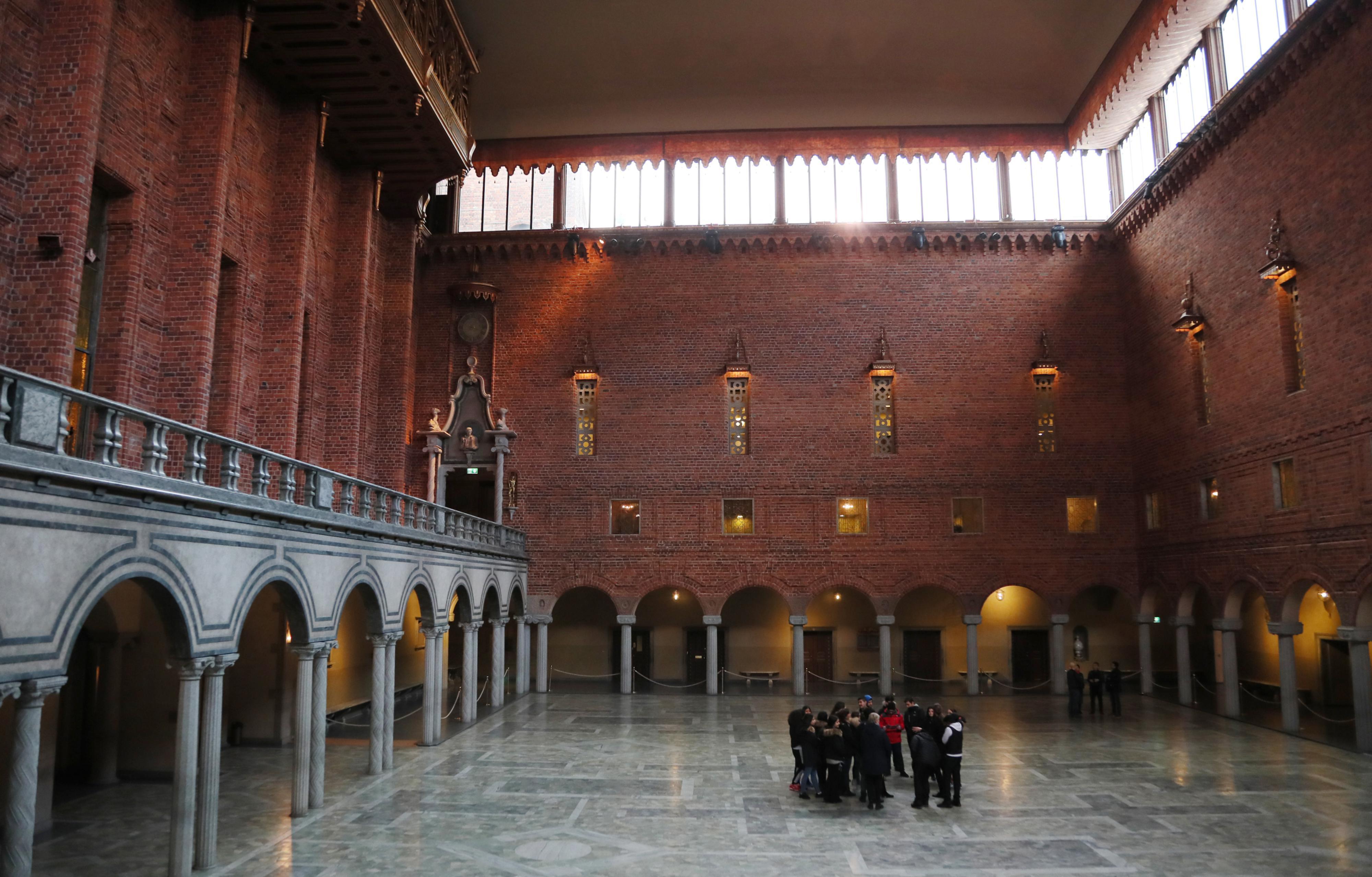 Oltóhellyé alakítják a Nobel-bankett helyszínét