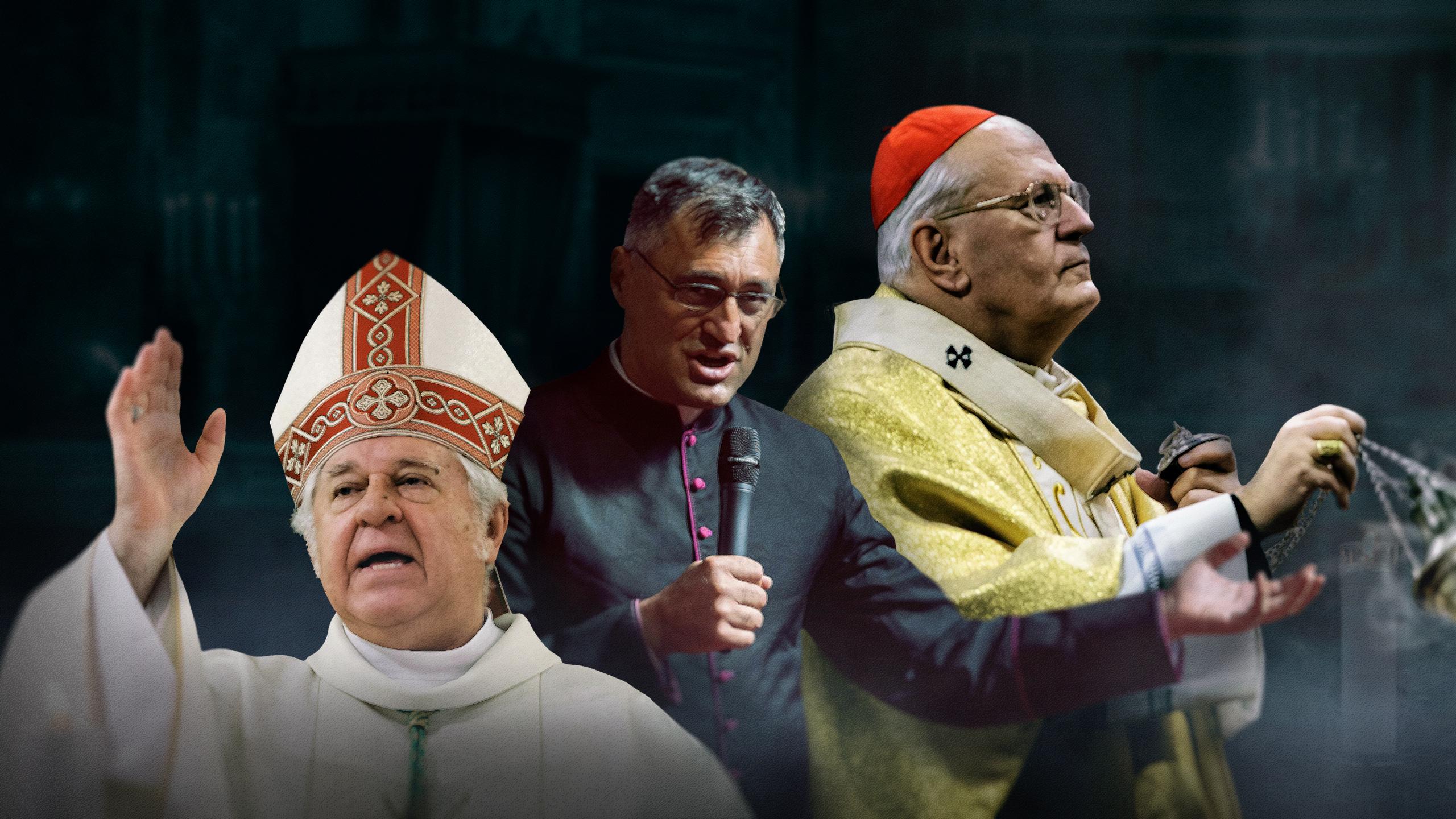 Vezetőszáron vitték el egy pap áldozatát, az ünnepi mise végéig nem engedték ki