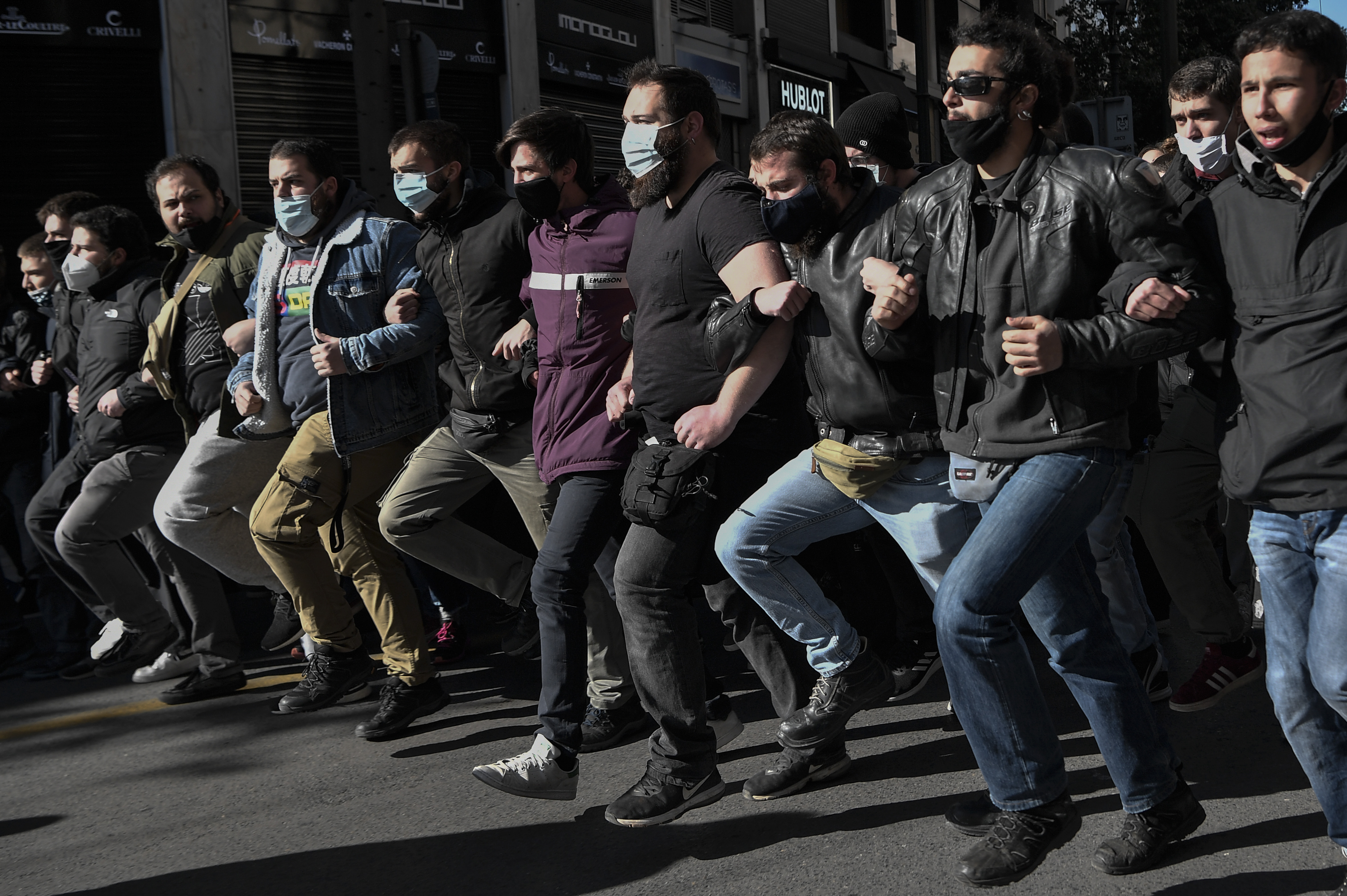 Több ezren tüntettek Görögországban egy új felsőoktatási reform ellen