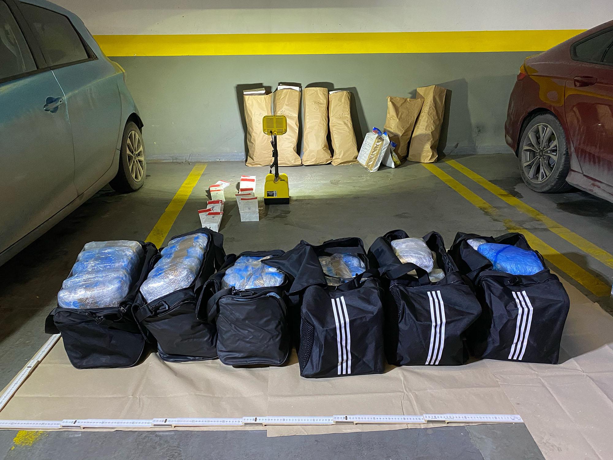 250 millió forint értékben foglalt le drogot a rendőrség Budapesten