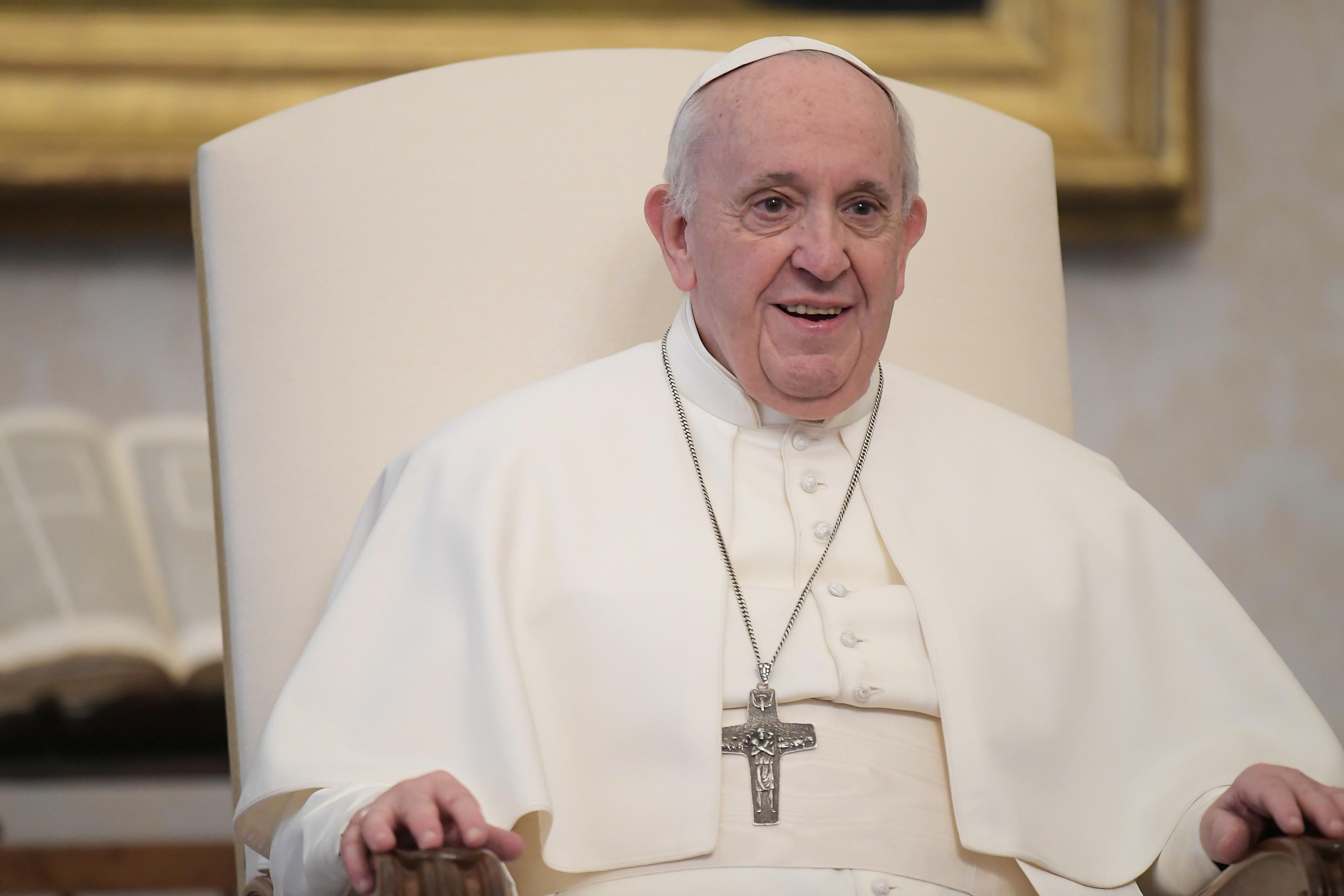 Fagyit küldött a pápa a raboknak