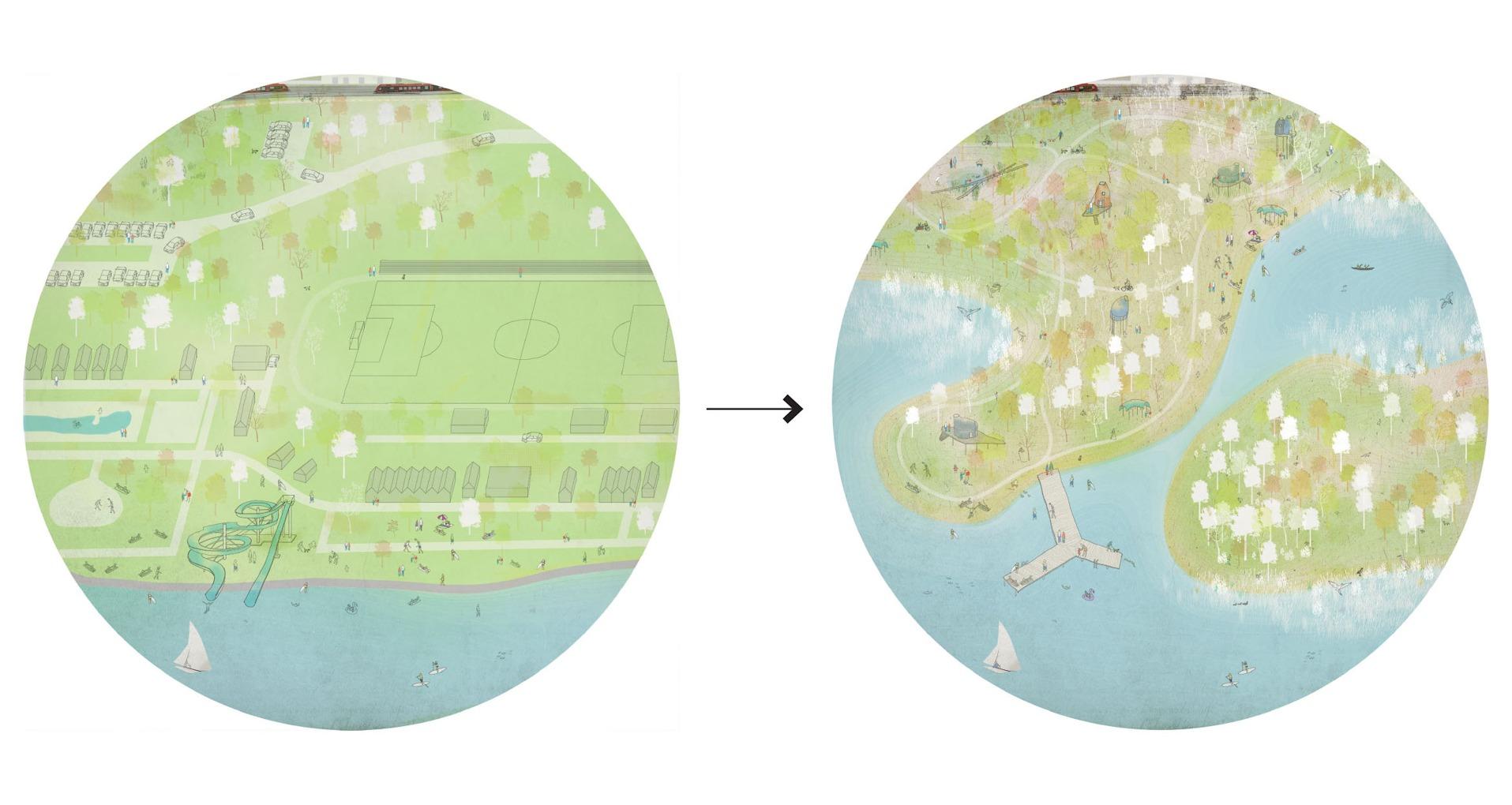 Két építész radikális terve: további beépítés helyett a természetnek adnák vissza a Balaton partját