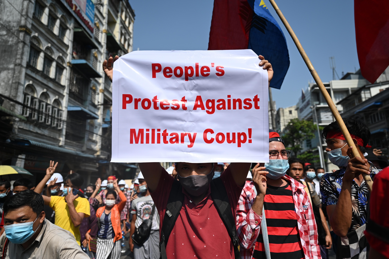 Lekapcsoltatta az internetet Mianmarban a kormányt megpuccsoló hadsereg