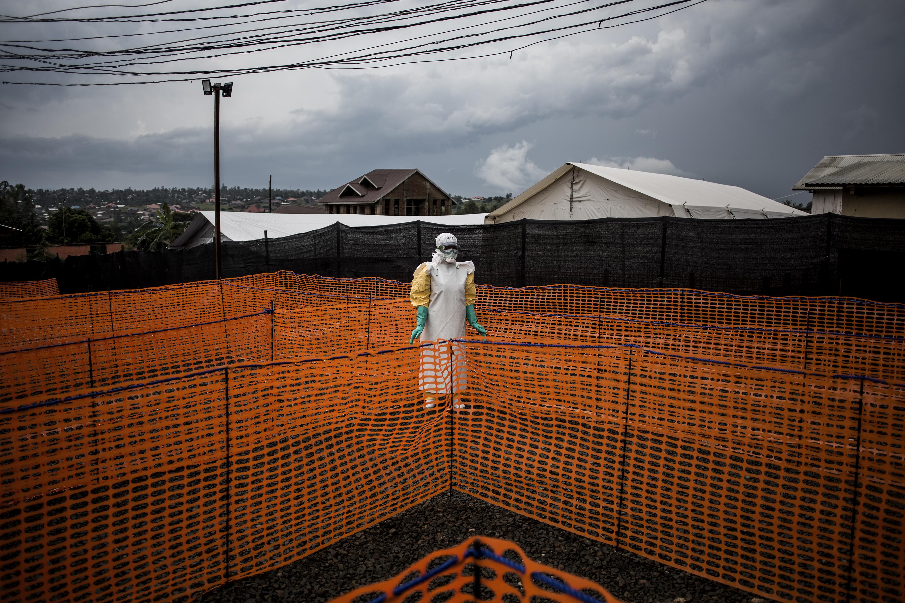 Ebola ölt meg egy nőt a Kongói Demokratikus Köztársaságban