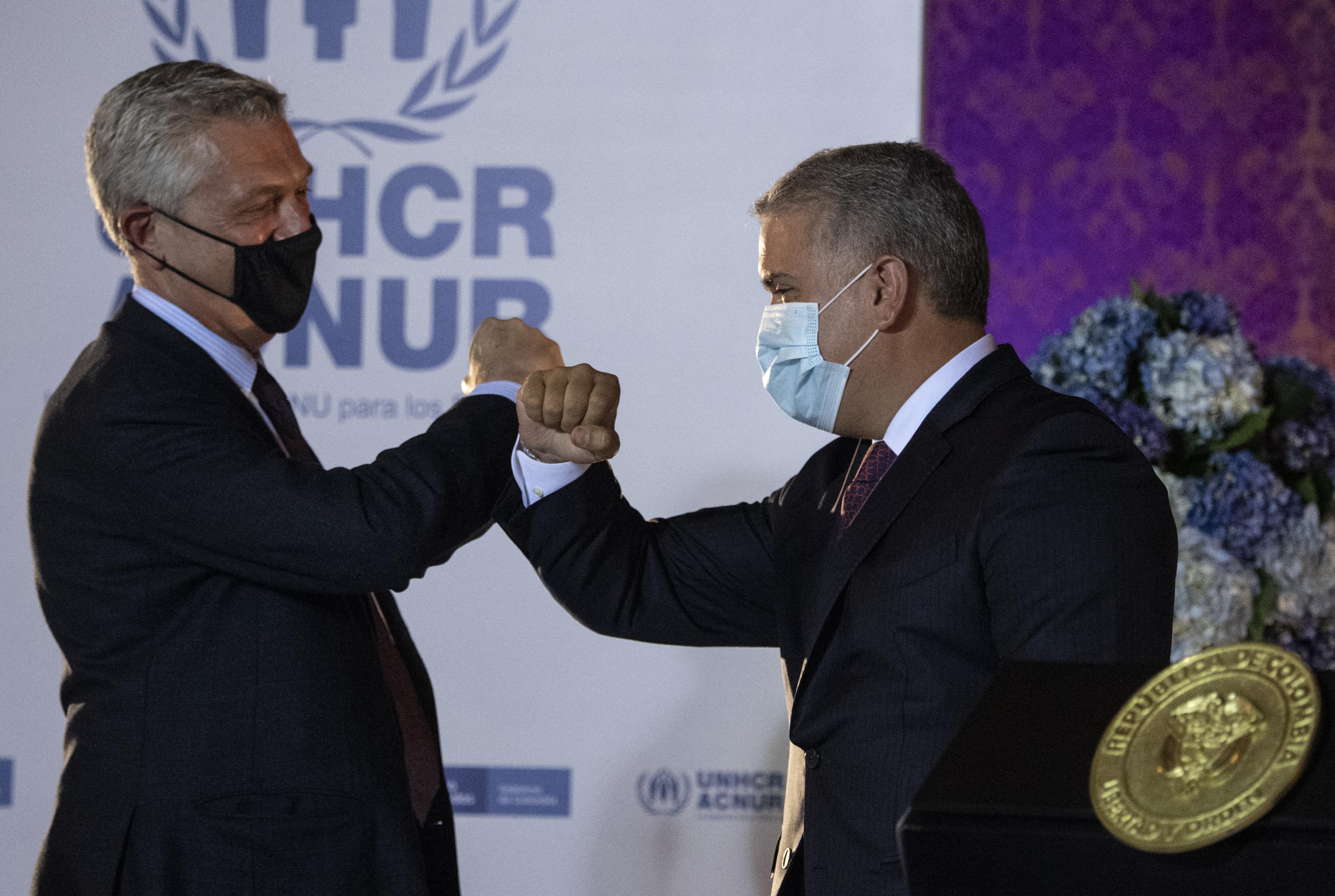 Átmeneti védelmet kaphatnak Kolumbiában a venezuelai menekültek