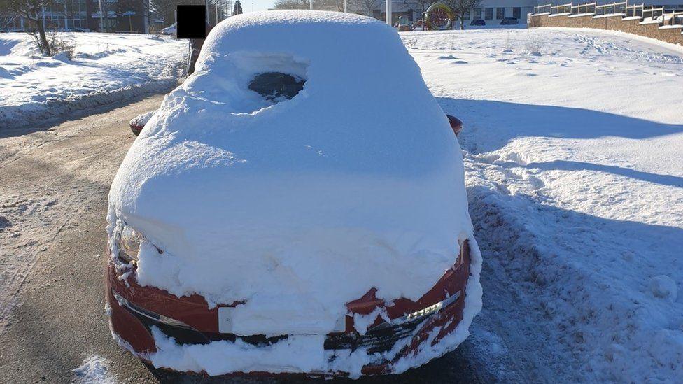Nem vitte túlzásba a kocsija letakarítását