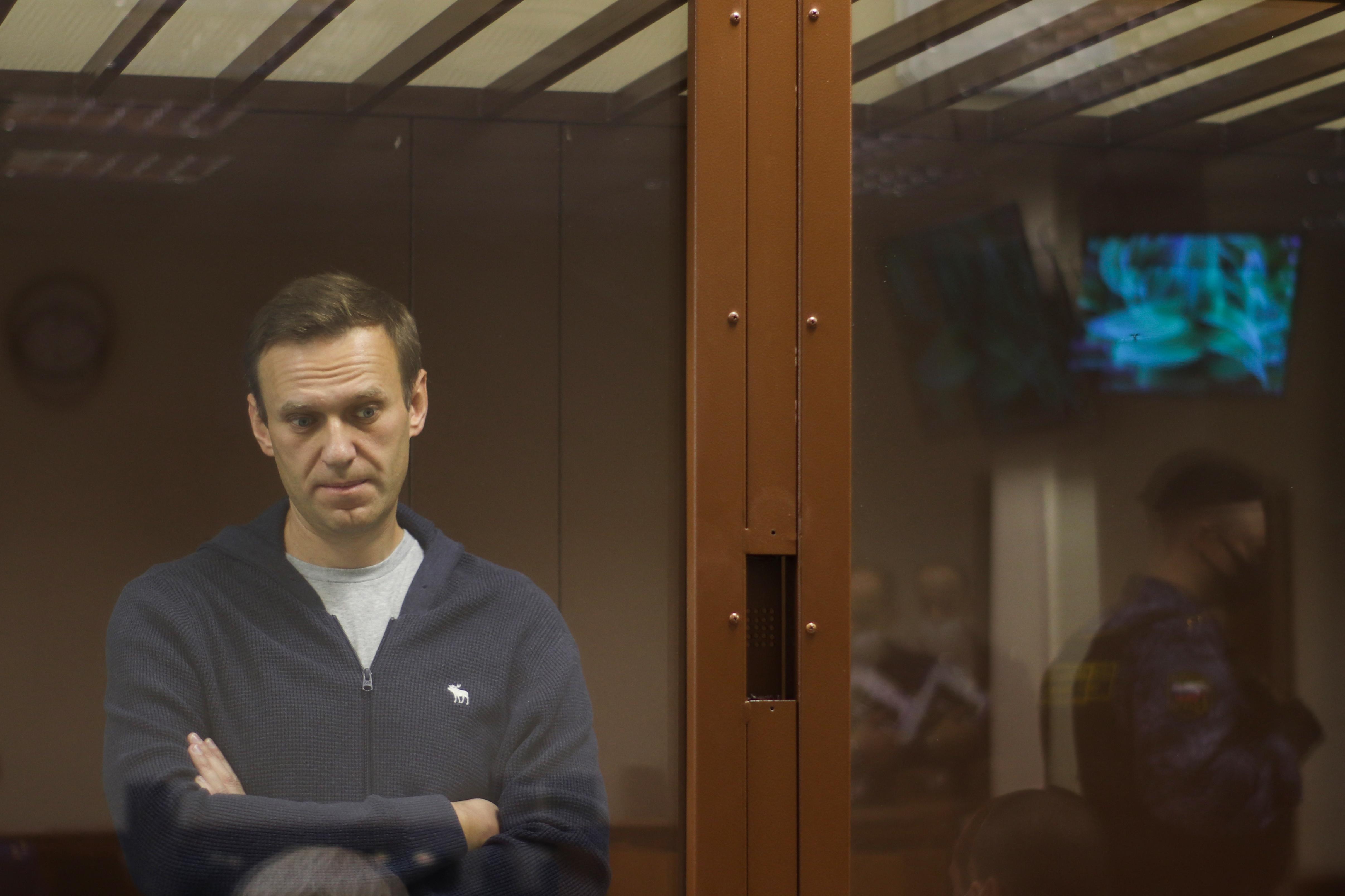 Egyre rosszabb Navalnij állapota a börtönben