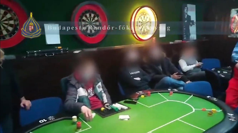 Illegális pókerpartit számolt fel a rendőrség Újpesten