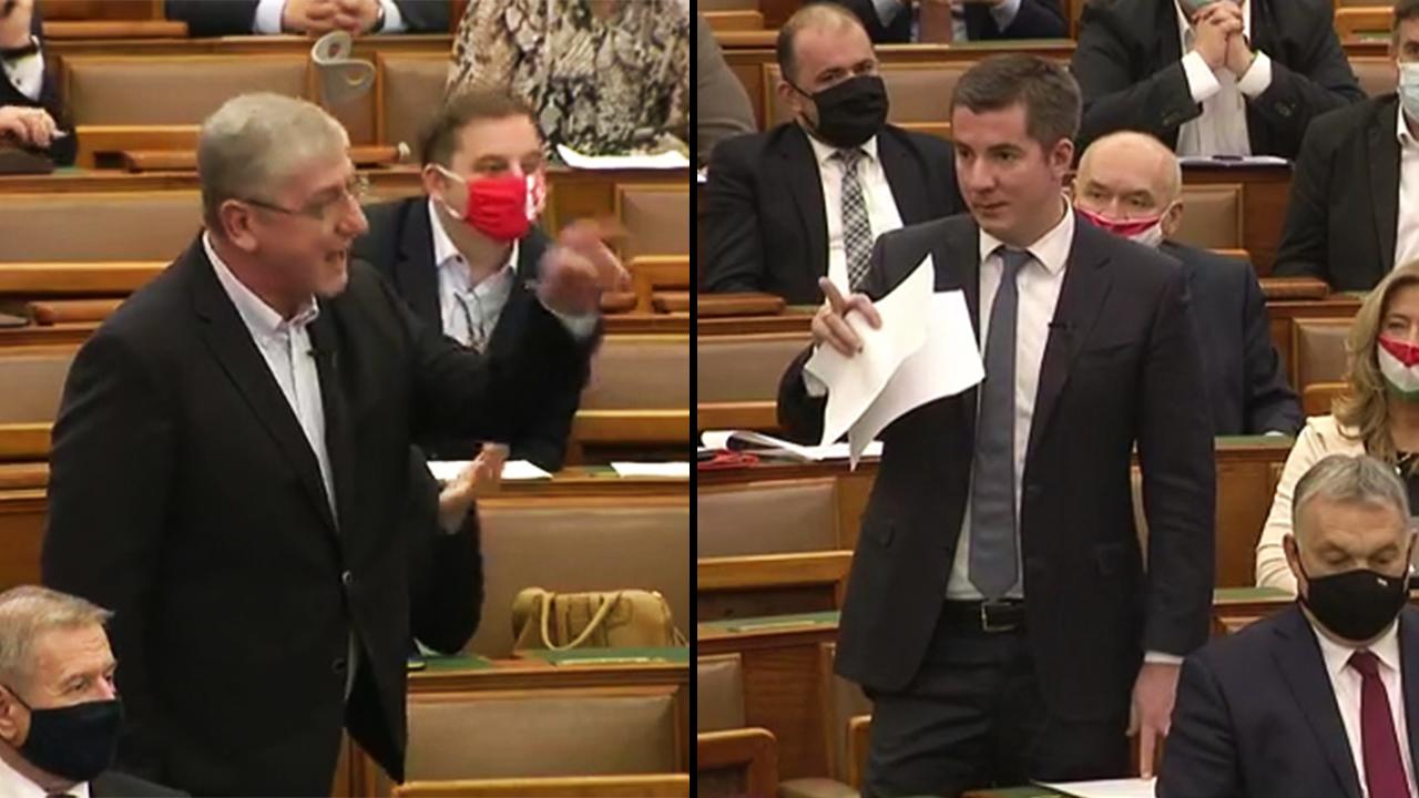 Két dolgot fixre ígértek a Parlamentben: sok keleti vakcinát és még több gyurcsányozást