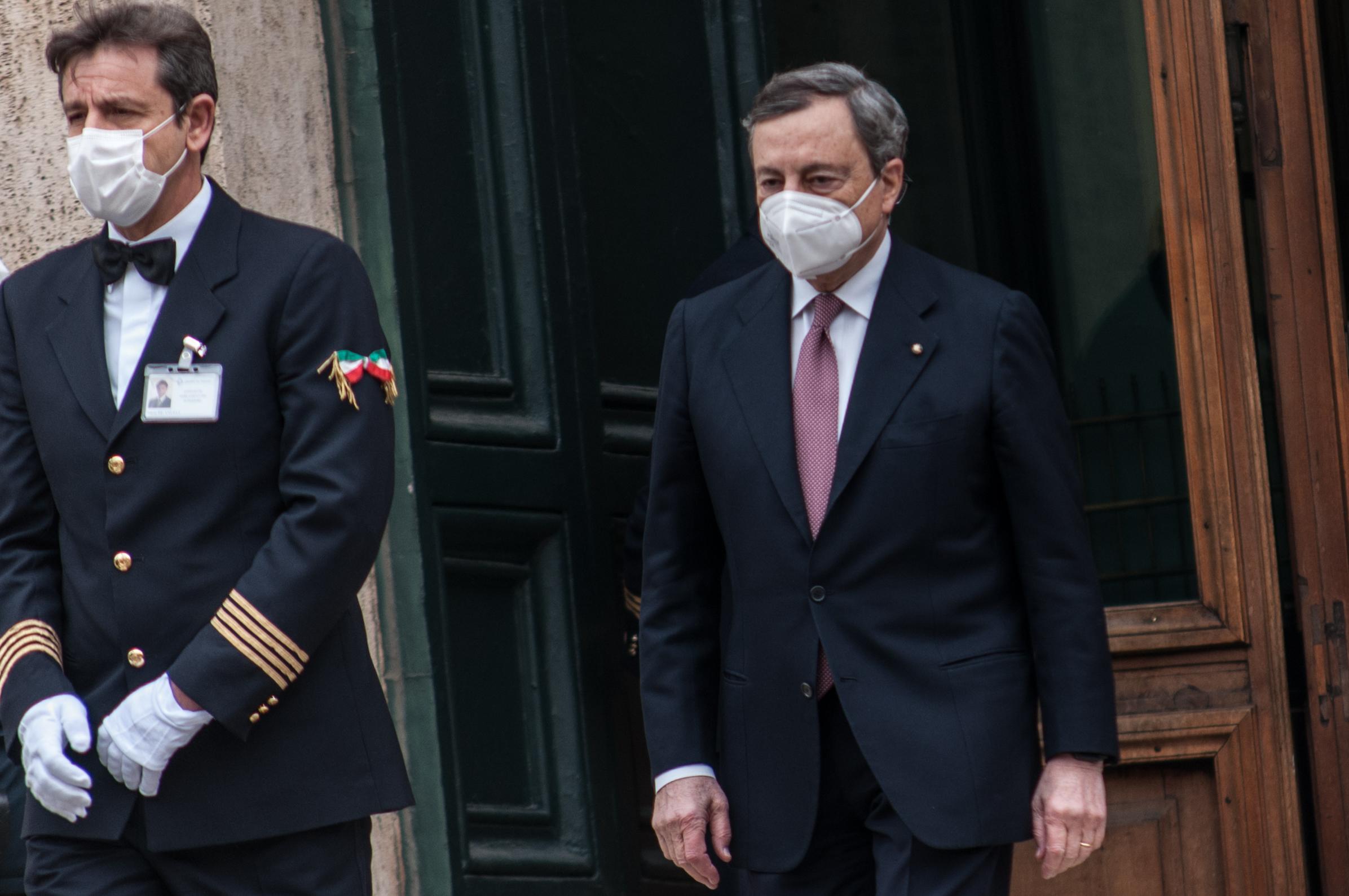 Megkapta a bizalmat Mario Draghi kormánya Olaszországban