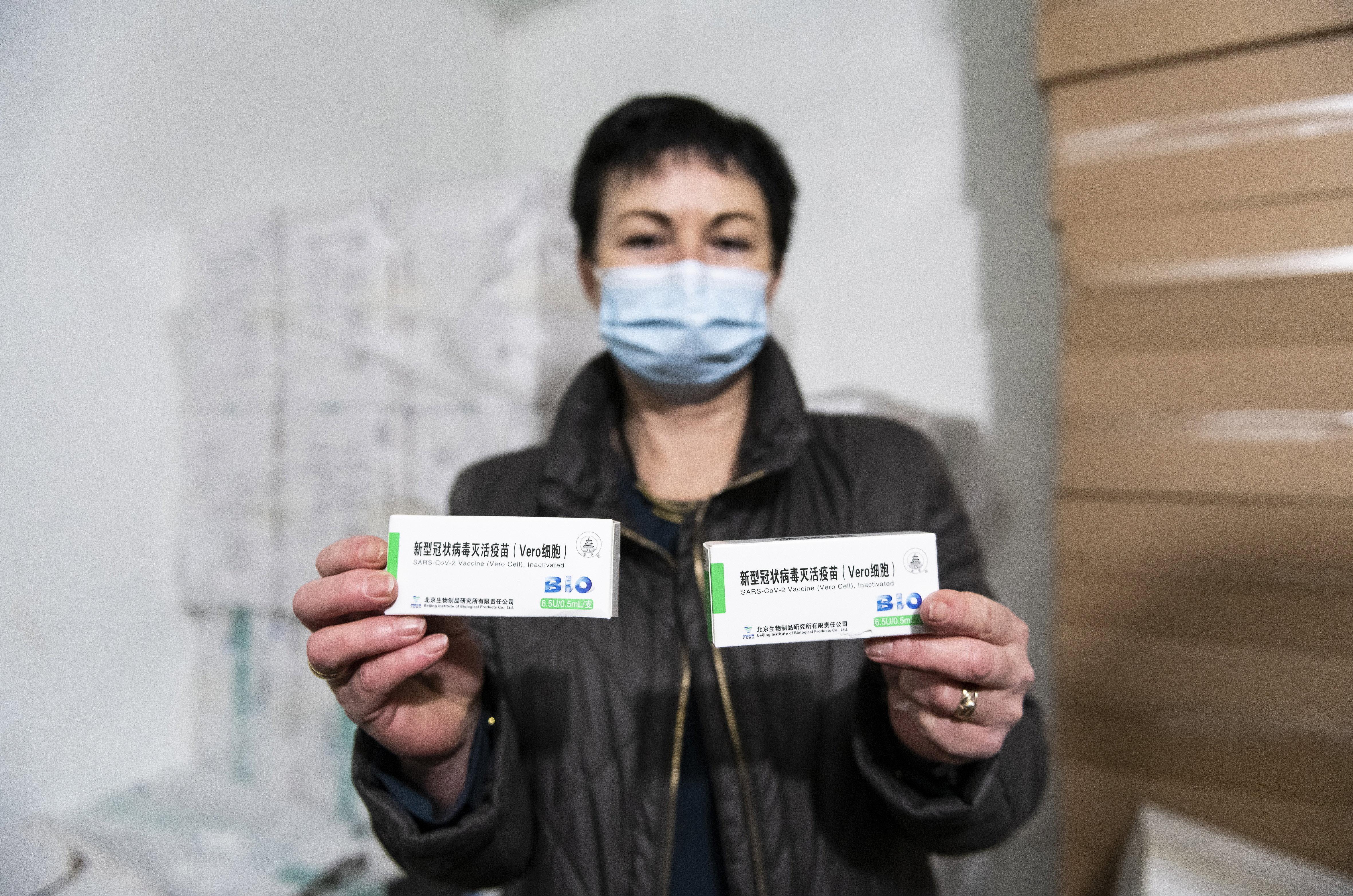 Az összes kínai vakcinát beadnák a héten