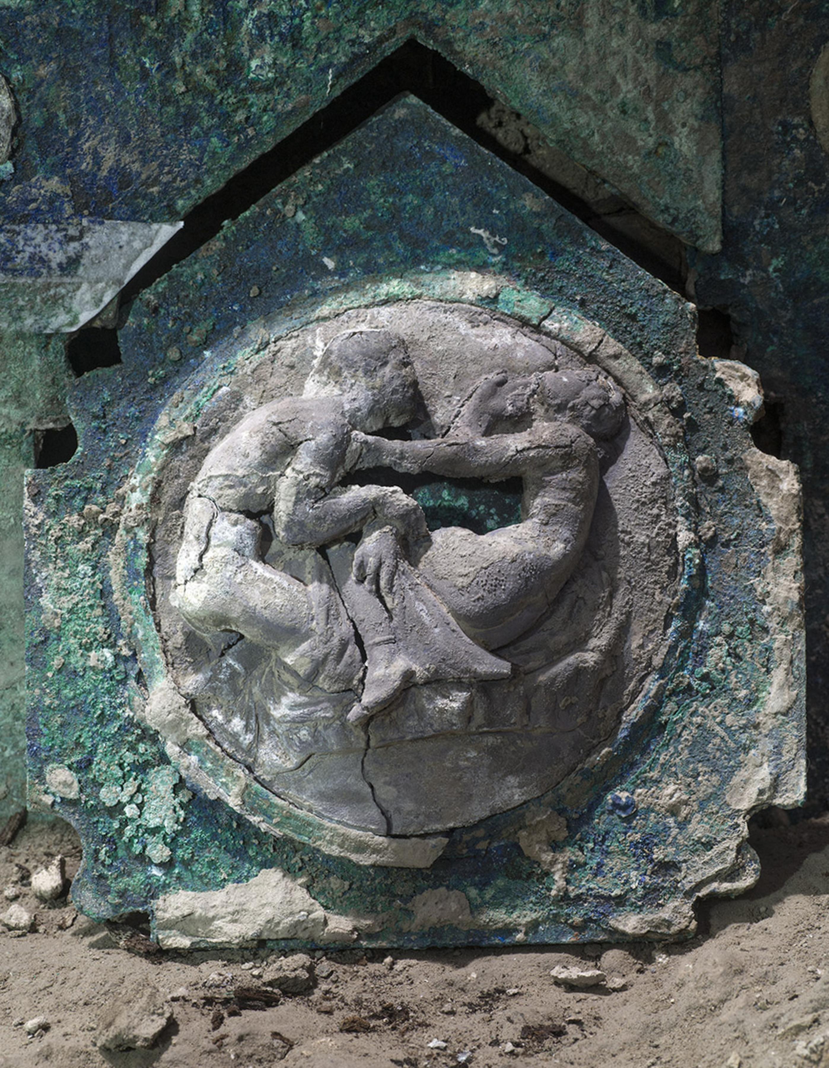 Példátlan feltárás Pompeii mellett: ünnepségeken használt kocsit találtak
