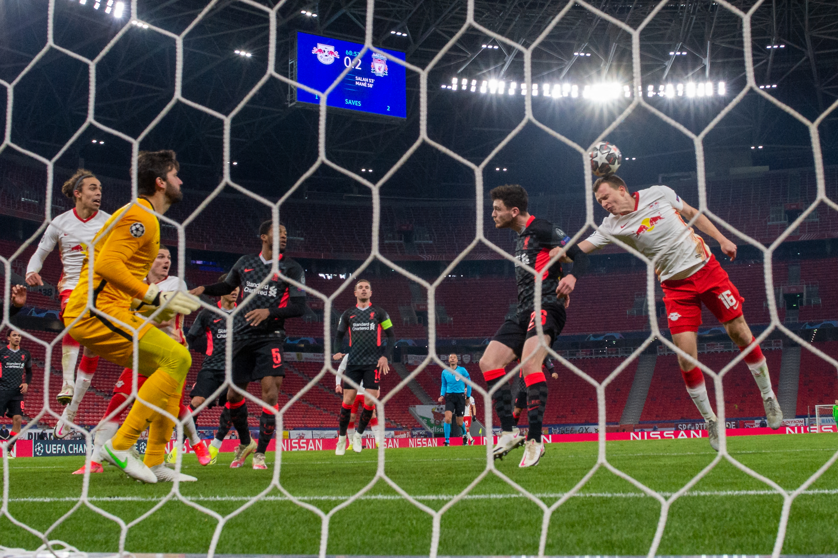 A Leipzig-Liverpool visszavágóját is Budapesten rendezhetik