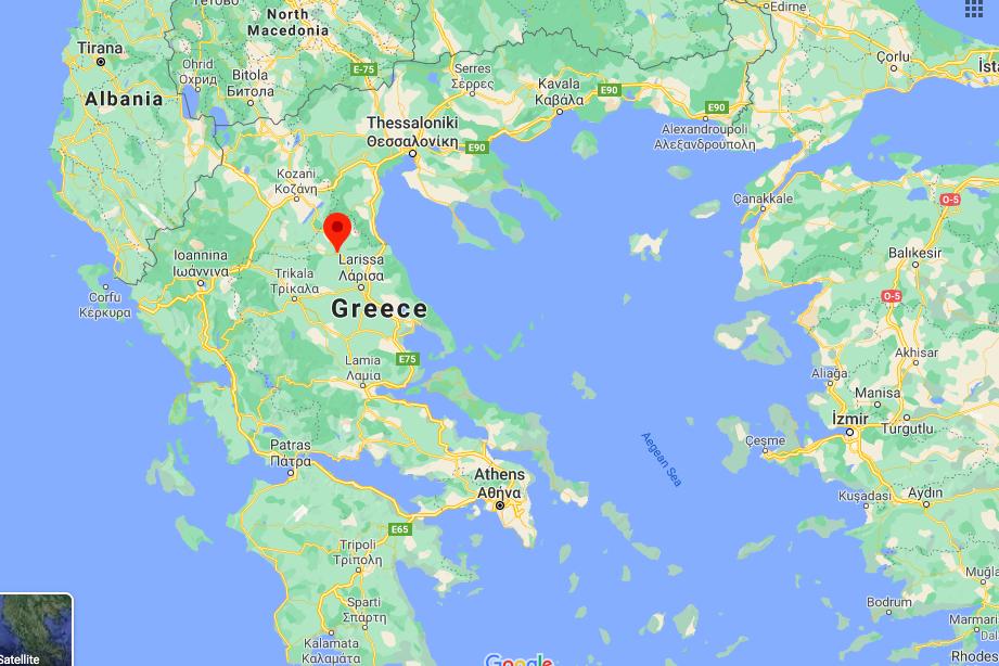 Erős földrengés volt az előbb Görögországban