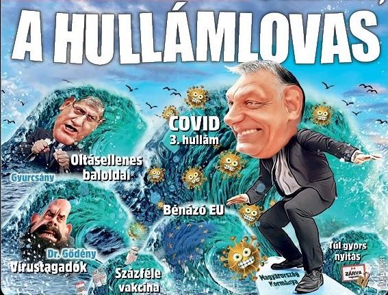 Bénázó EU, hullámlovas Orbán - erős lett az eheti Ripost címlap