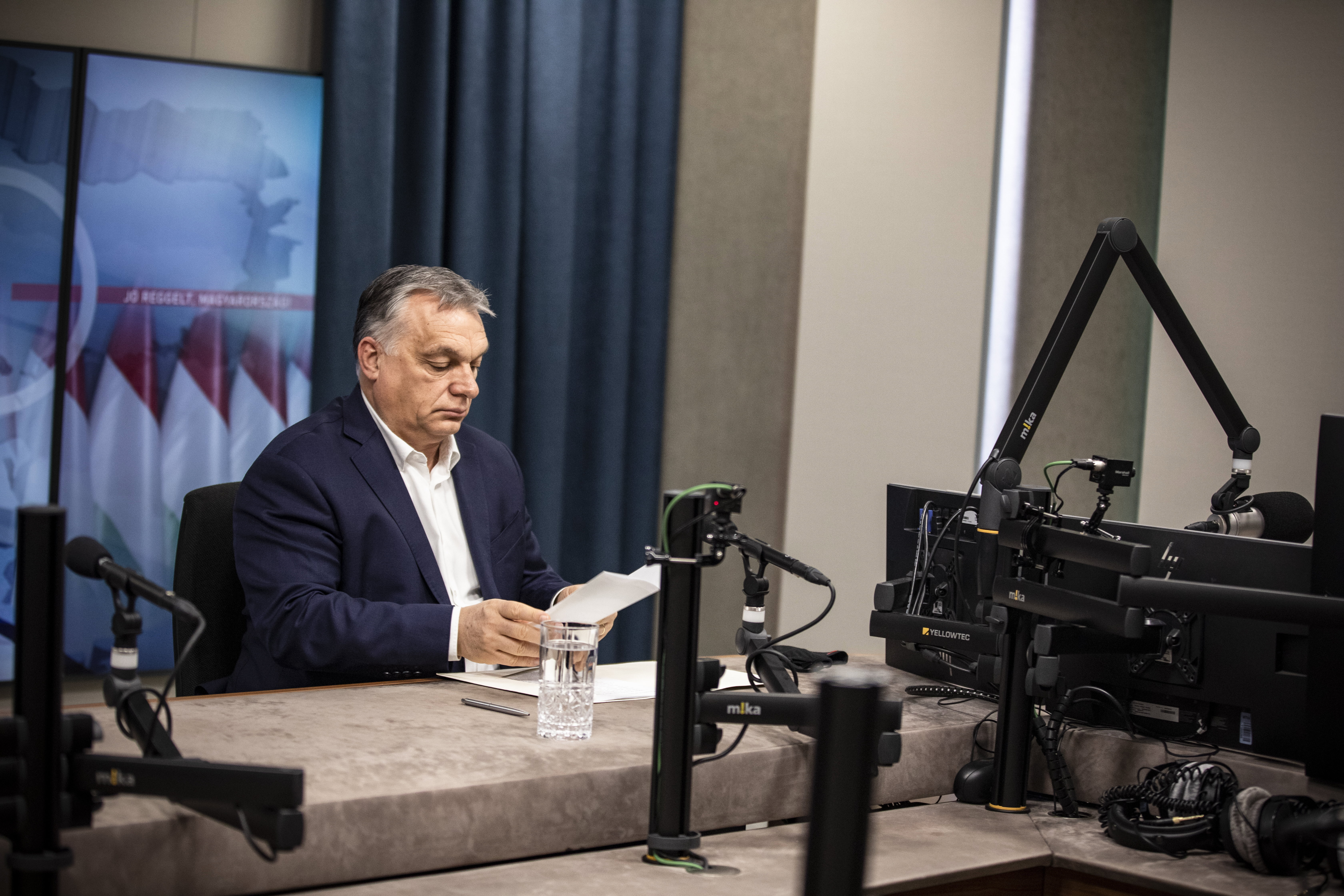 Orbán szerint a kötelező oltás Magyarországon nem lenne járható út