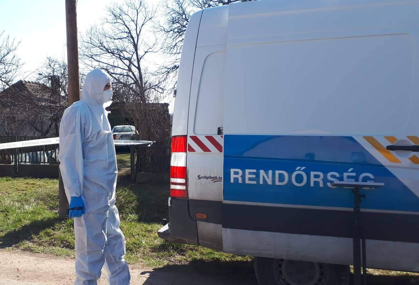 A szomszédhoz is megpróbált betörni a férfi, aki húsért ölhetett meg két idős embert Kislángon